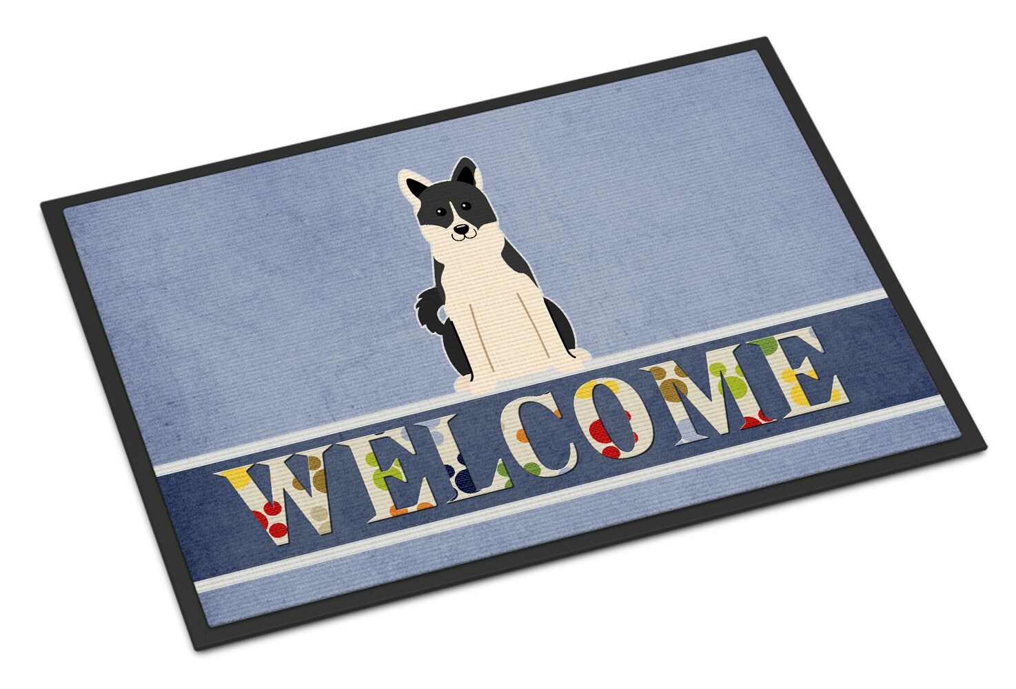 Russo-European Laika Spitz Welcome Doormat