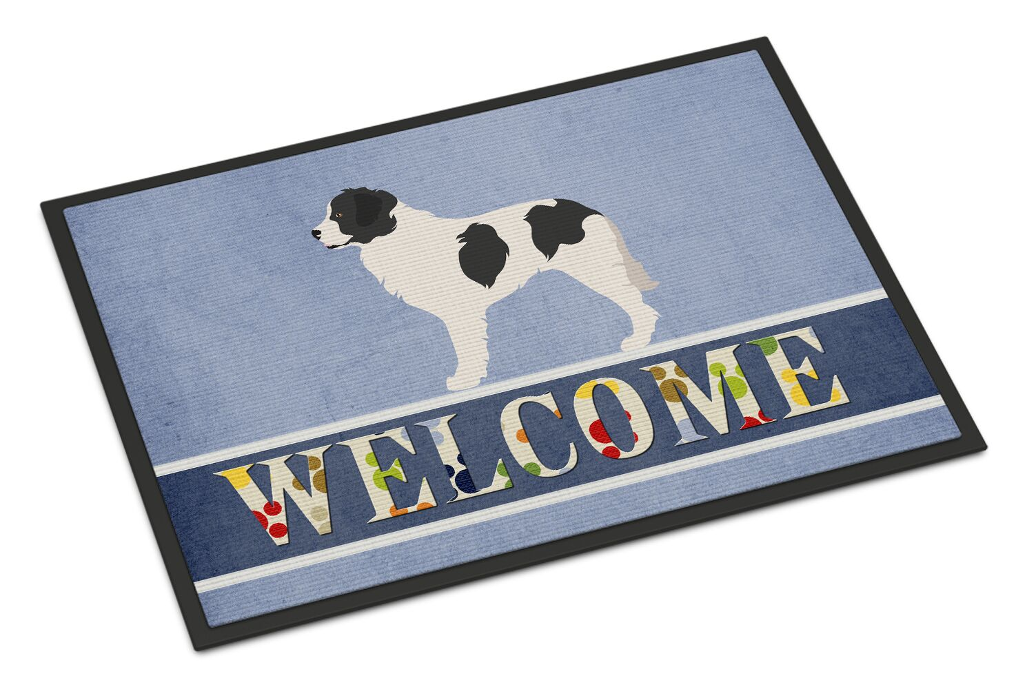 Landseer Welcome Doormat
