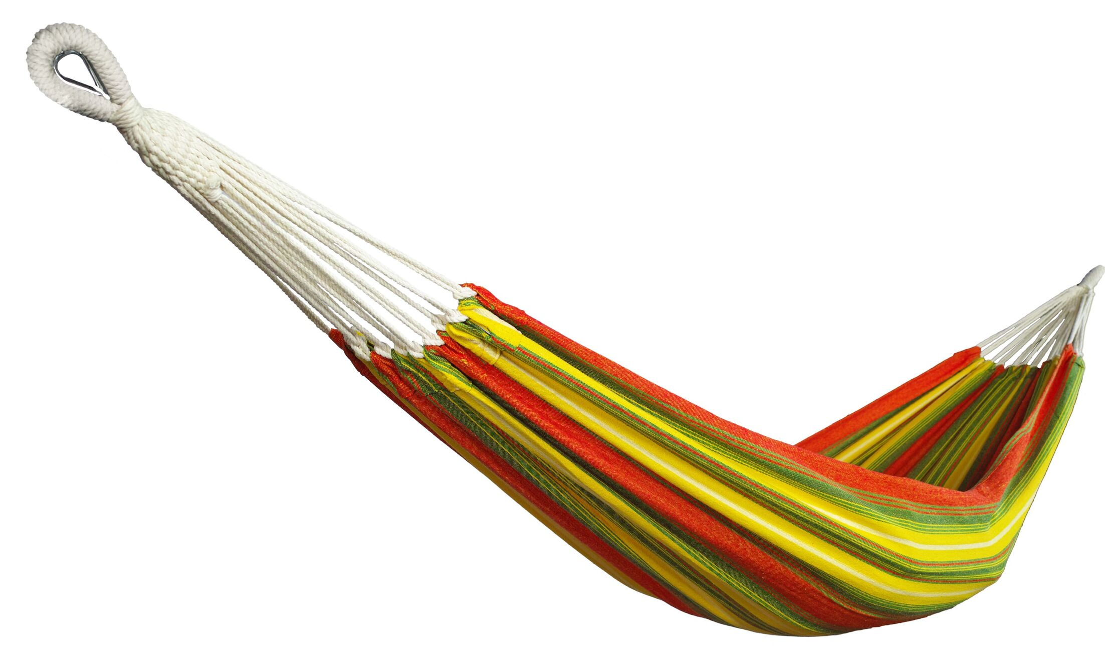 Snider Hang Tree Hammock Color: Red/Yellow, Size: 1