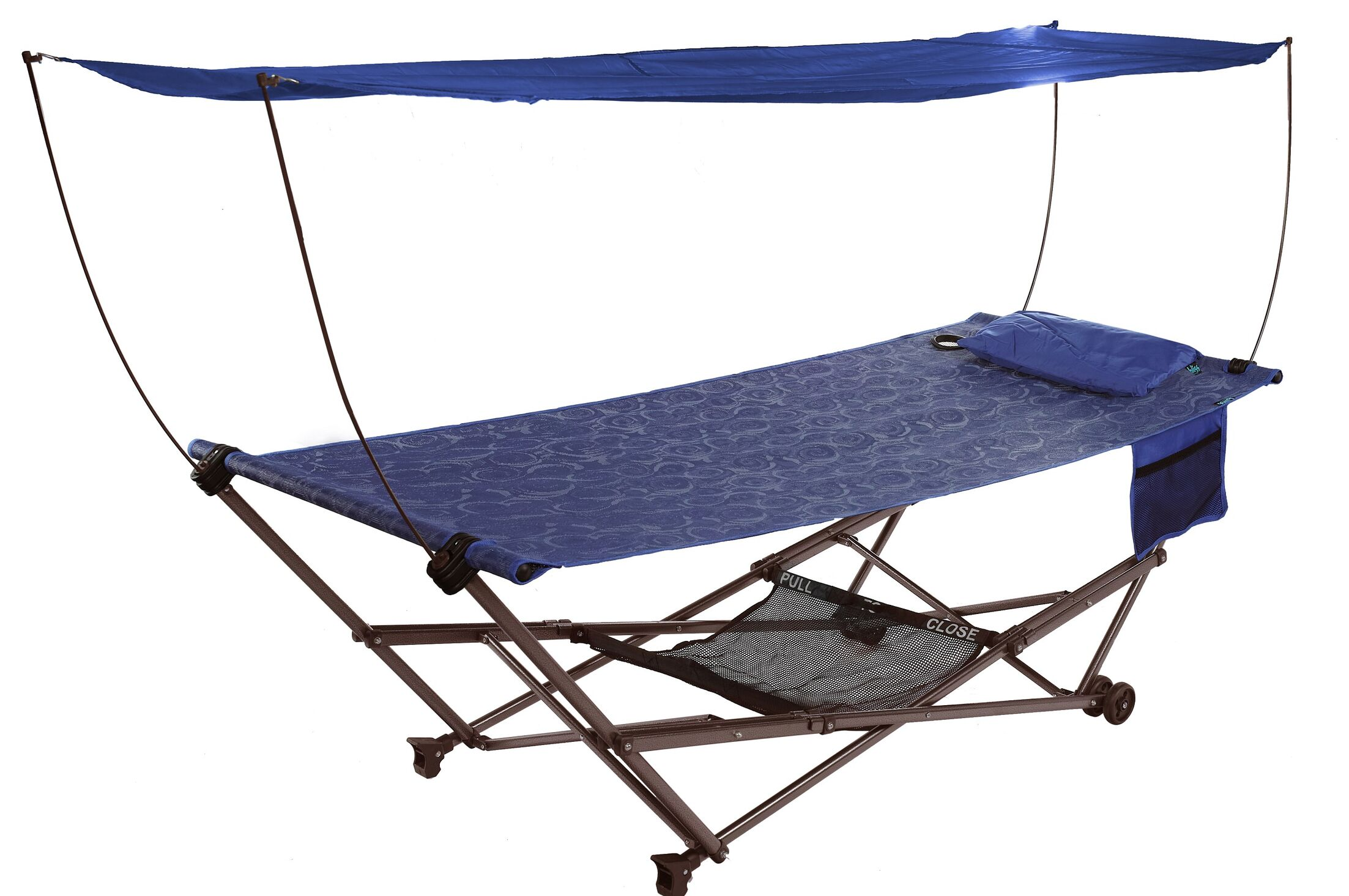 Solis Camping Hammock Color: Blue