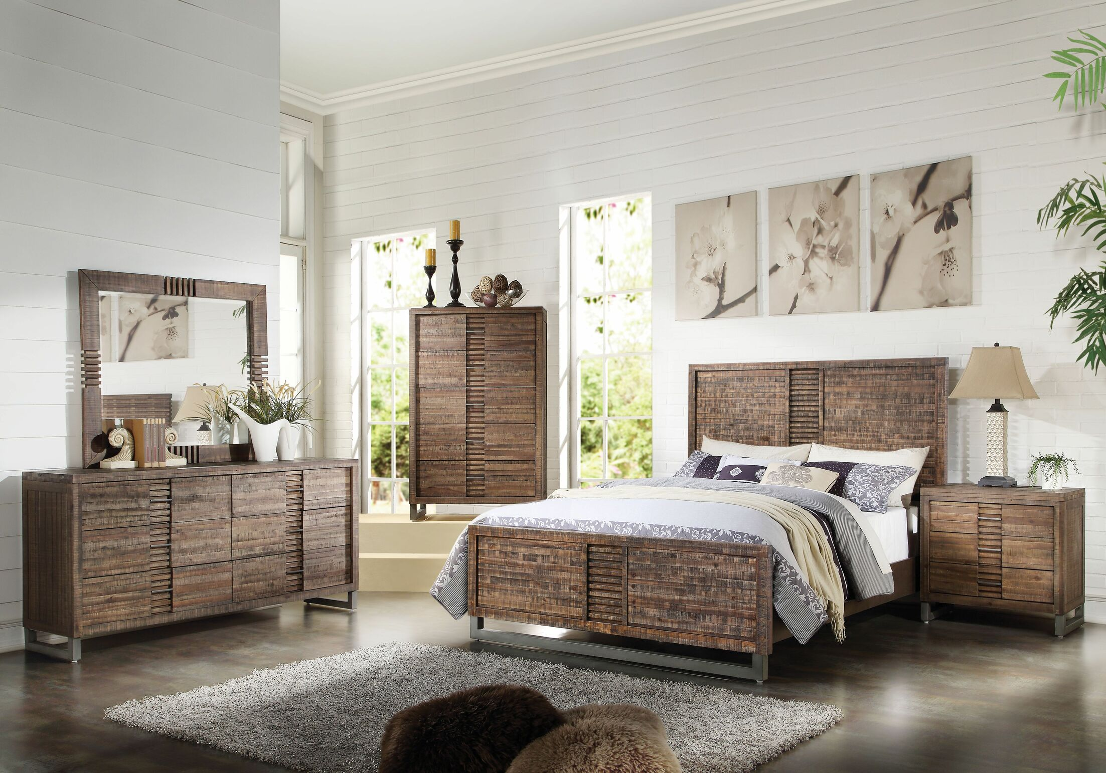 Veronica Panel Configurable Bedroom Set