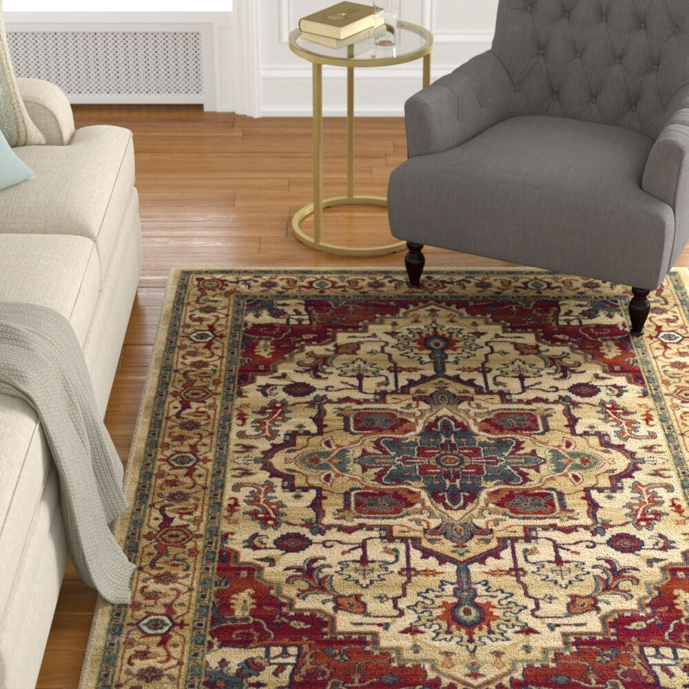 Wynn Tan Area Rug Rug Size: Rectangle 7' 10
