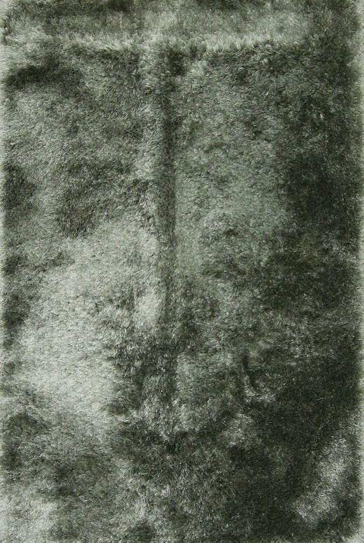Arago Shaggy Oriental Hand-Tufted Gray Area Rug