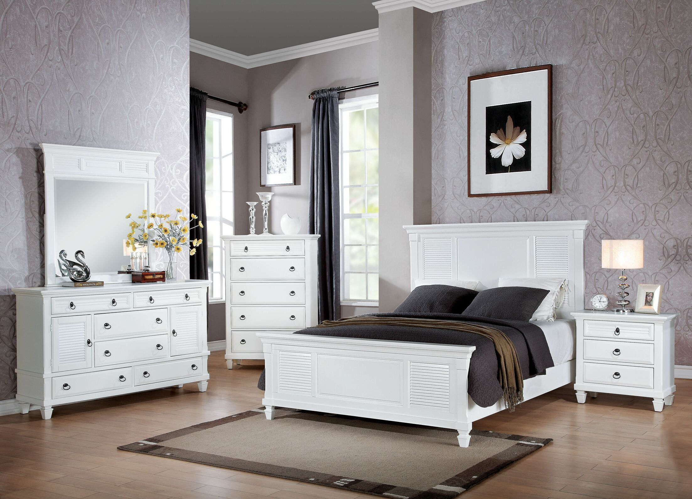 Mcnamara Panel Configurable Bedroom Set