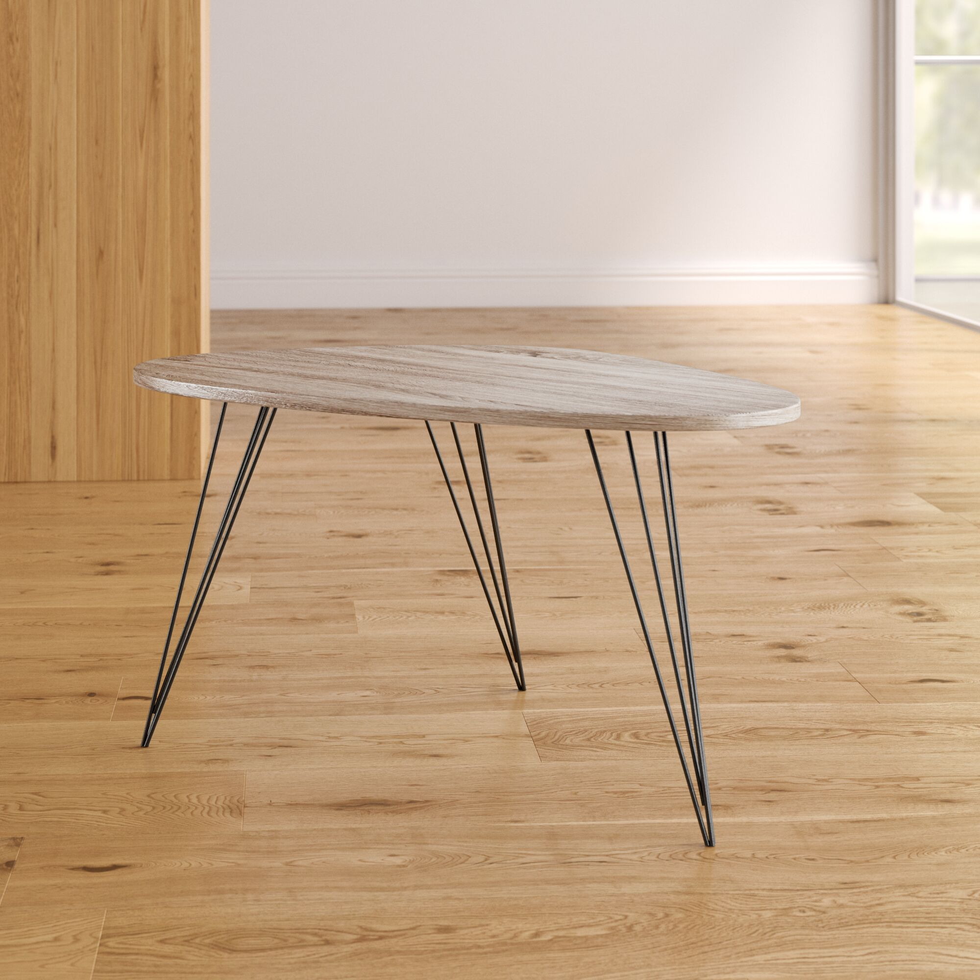 Bricker Coffee Table Table Top Color: Light Gray