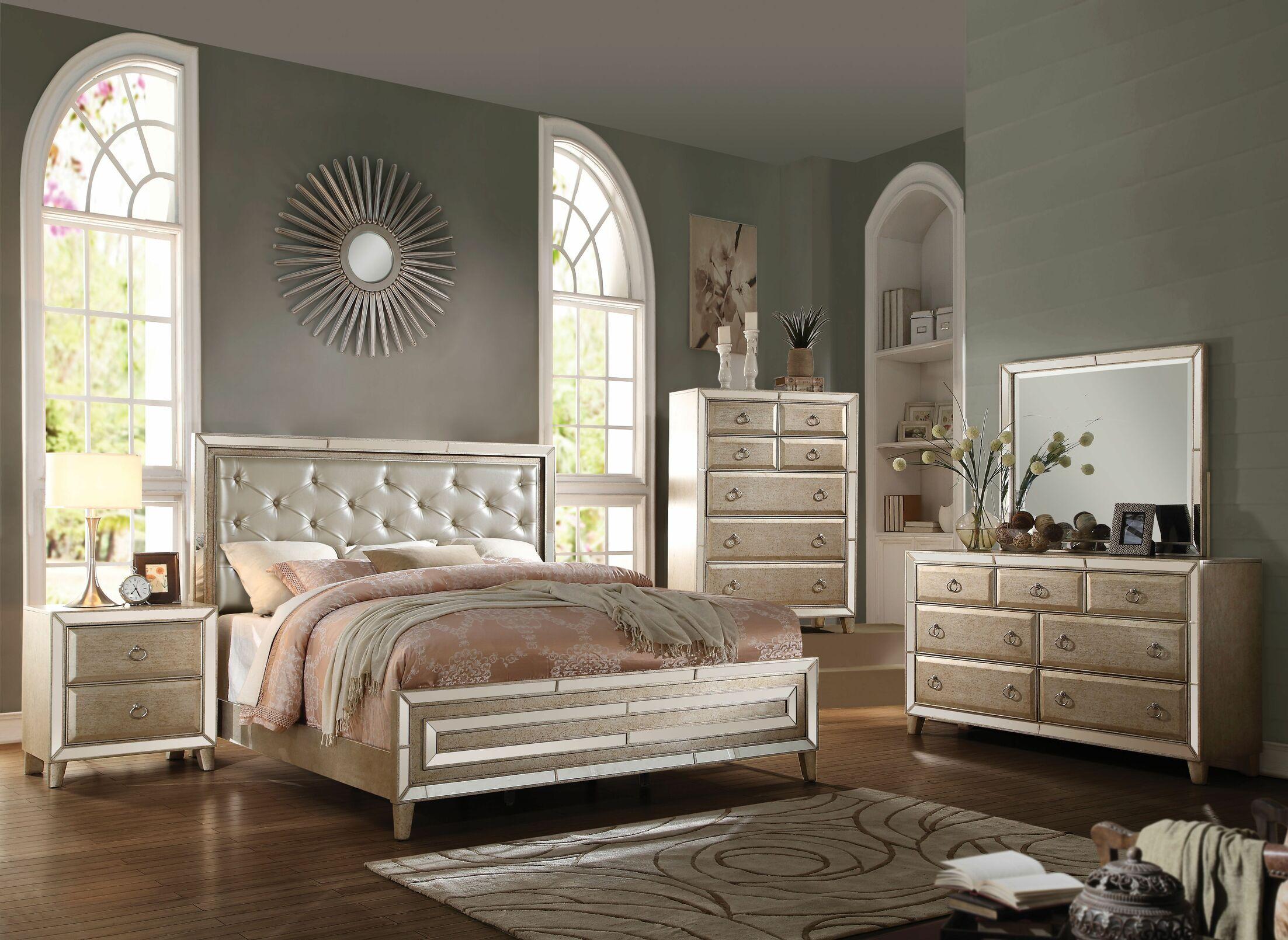 Emanuel Panel Configurable Bedroom Set