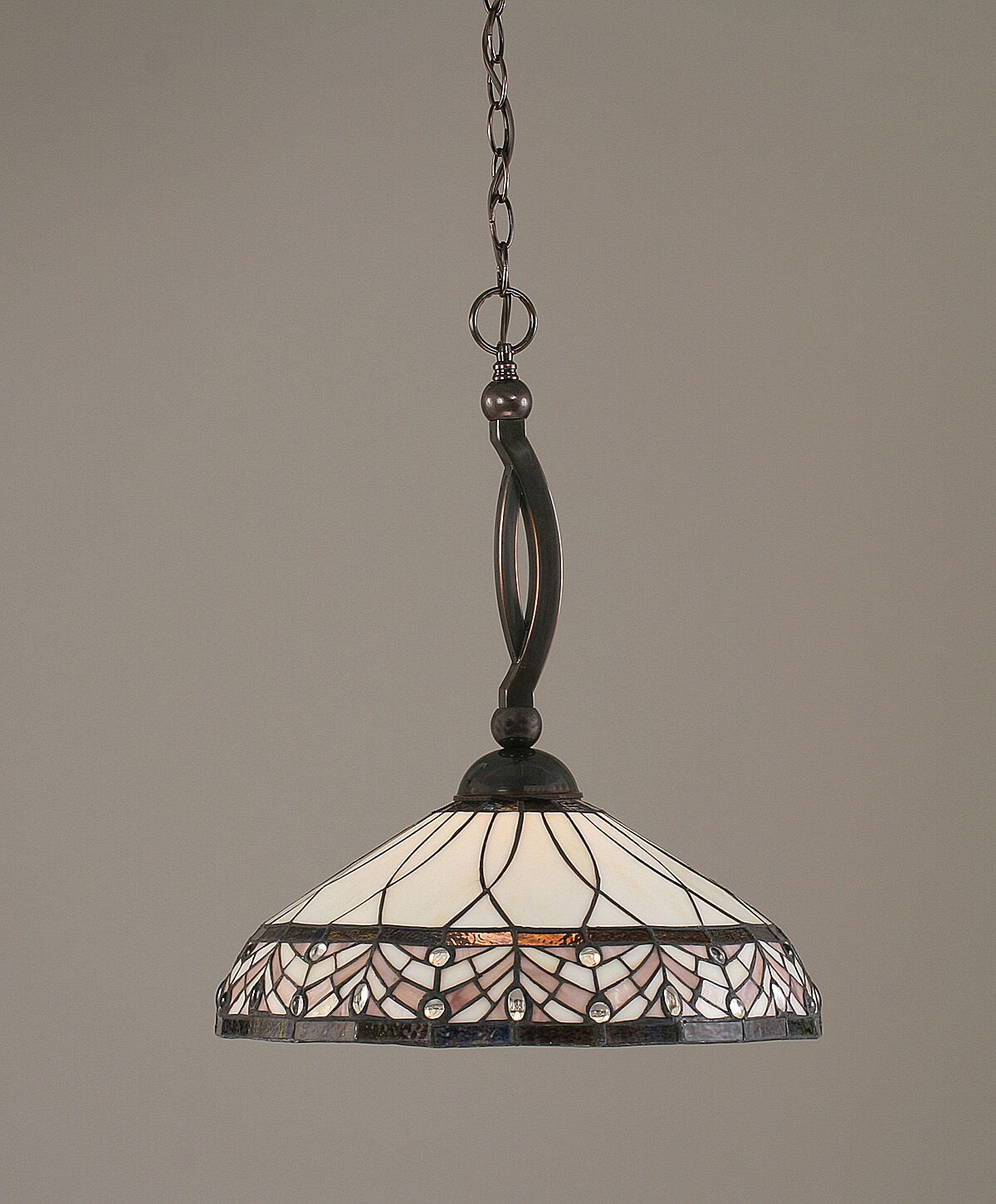 Austinburg 1-Light Dome Pendant