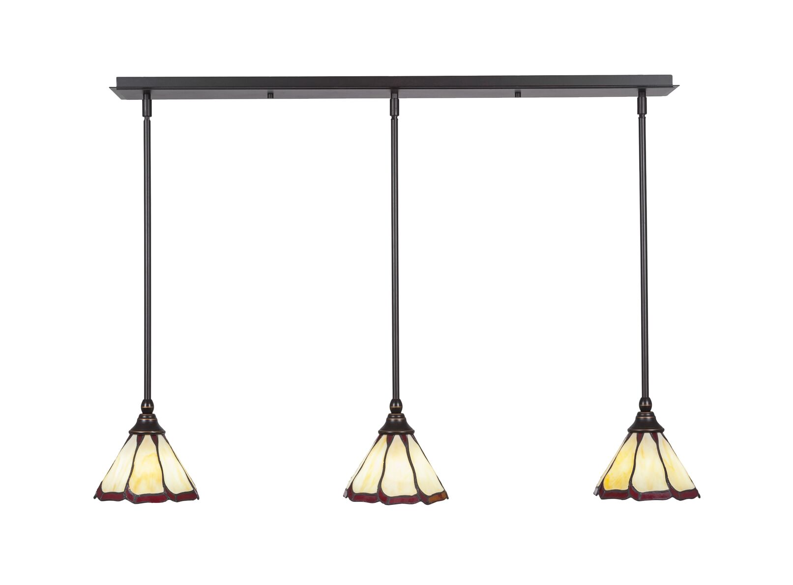 Ratchford 3-Light Mini Pendant Base Finish: Dark Granite
