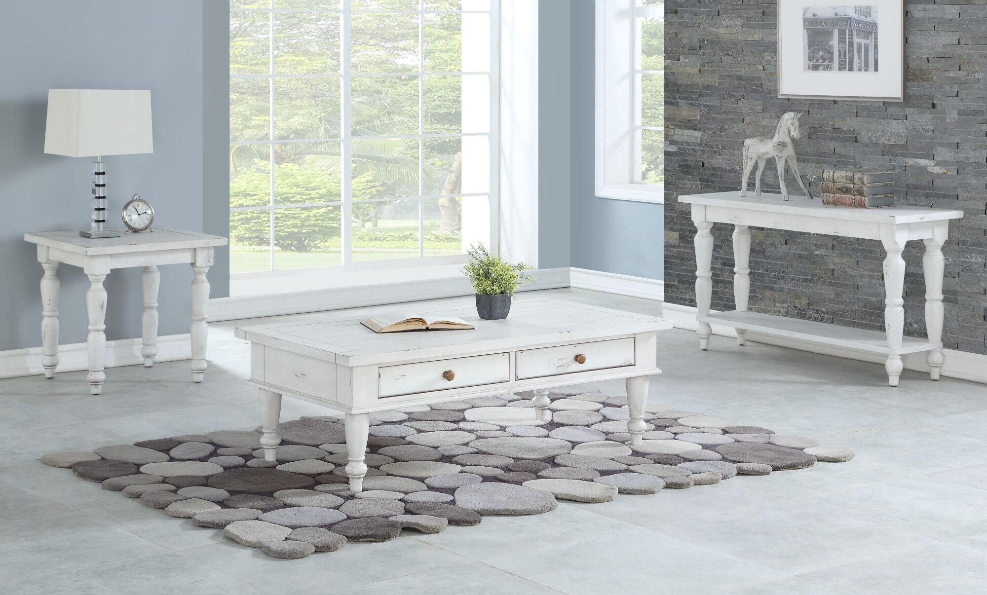 Spurgeon 3 Piece Coffee Table Set