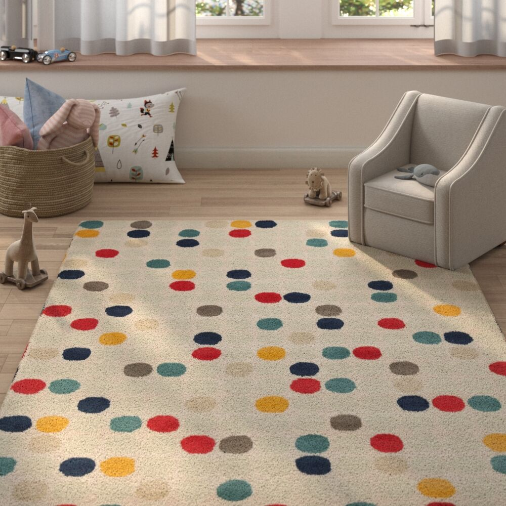 Robyn Hand-Tufted Area Rug Rug Size: Rectangle 8' x 10'