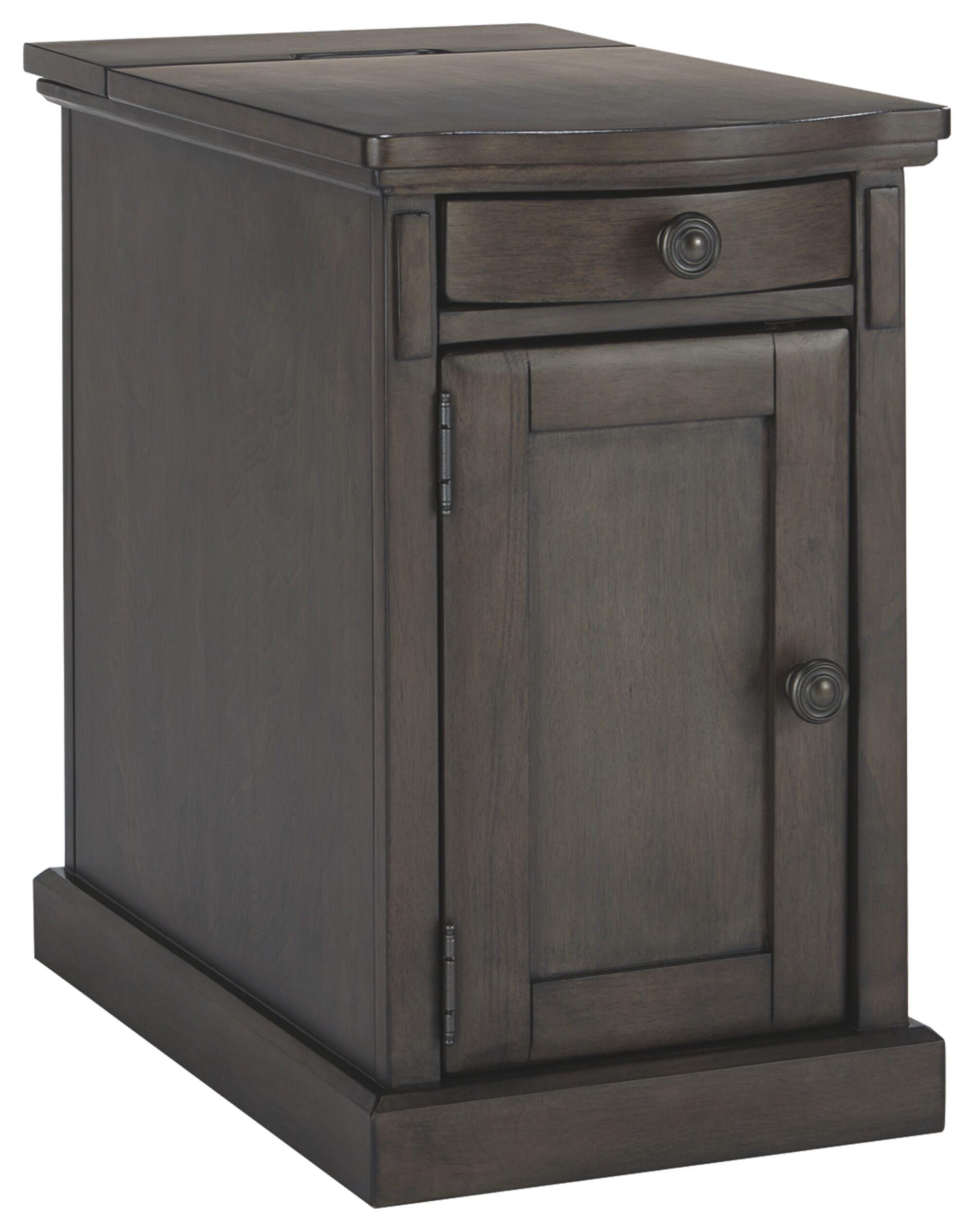 Theodosia End Table Color: Gray