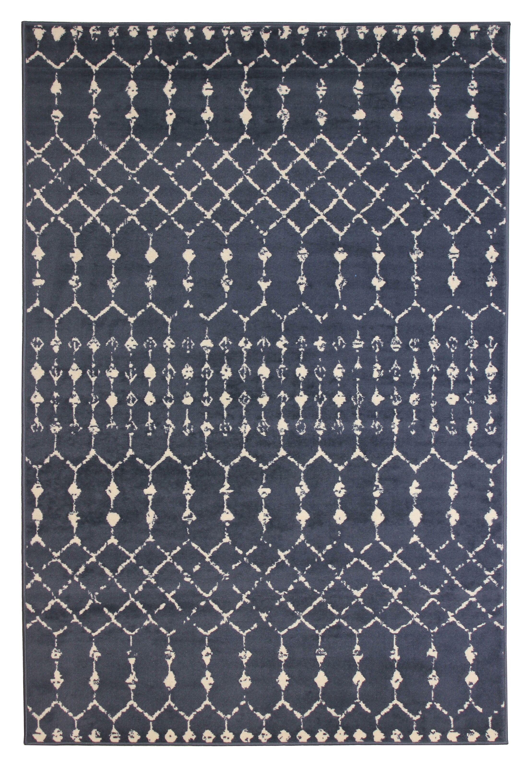 Melton Gray Area Rug Rug Size: Rectangle 8' x 10'
