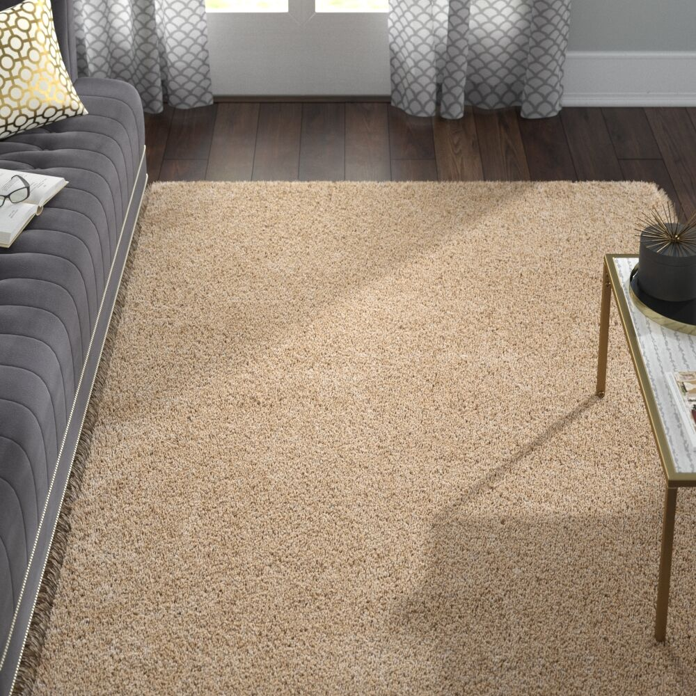 Hermina Light Beige Area Rug Rug Size: Rectangle 6'7
