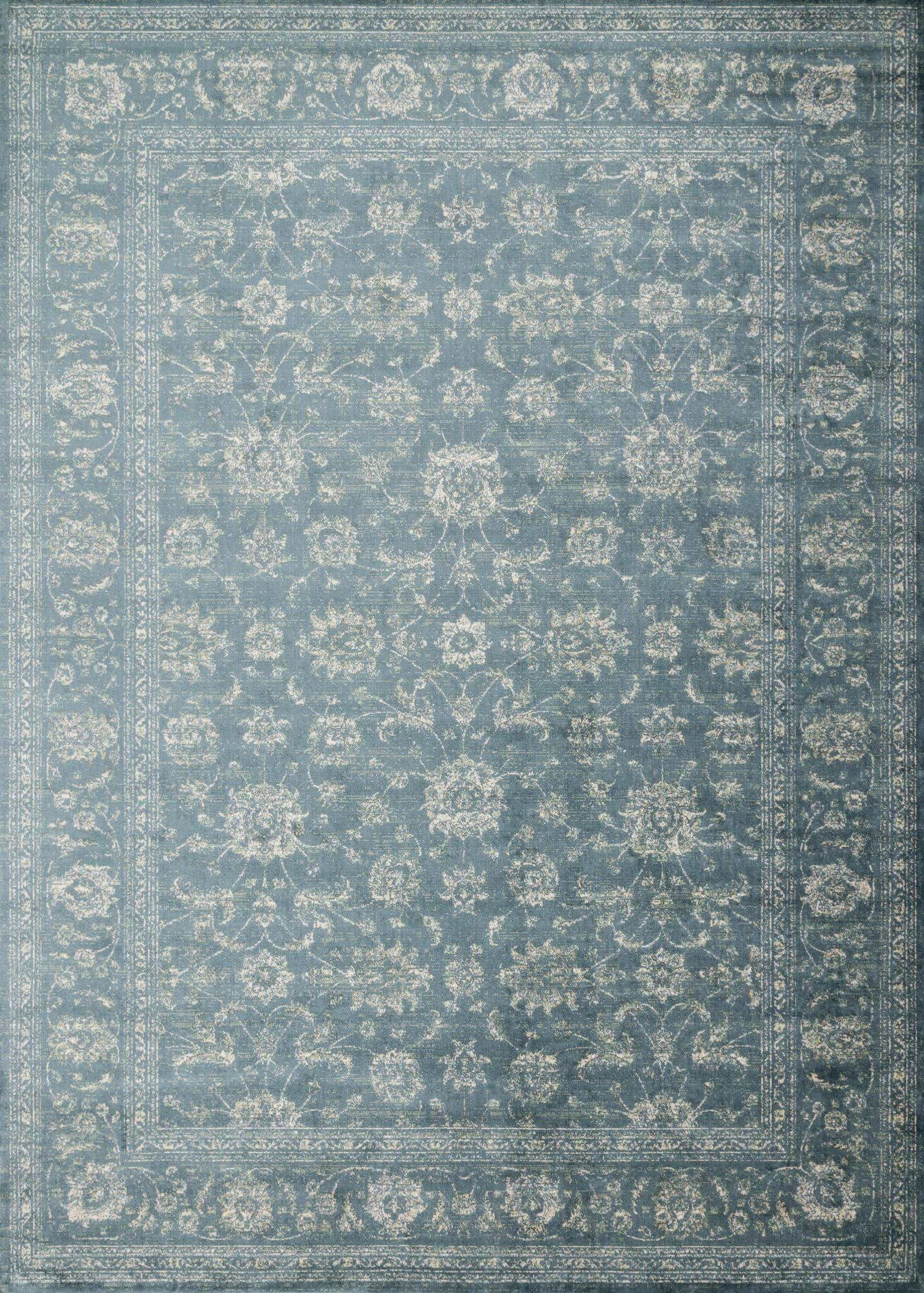 Donald Blue Area Rug Rug Size: Rectangle 9'2
