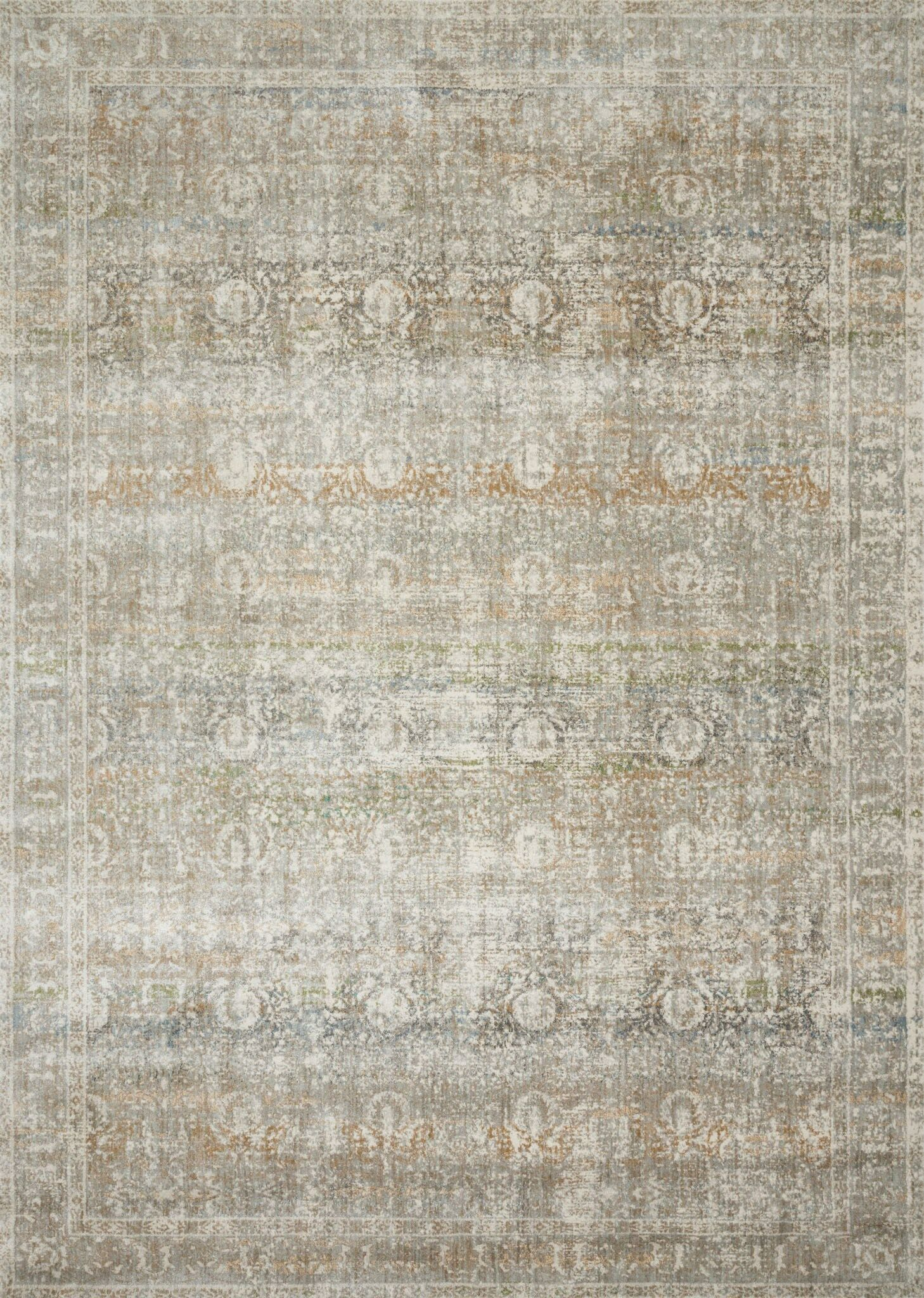 Steward Gray Area Rug Rug Size: Runner 2'7
