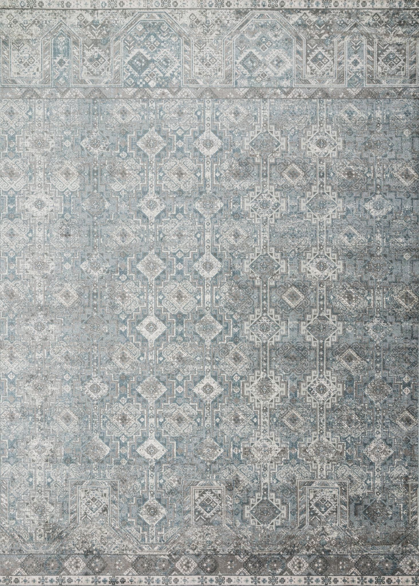 Donald Slate Area Rug Rug Size: Rectangle 5' x 7'6