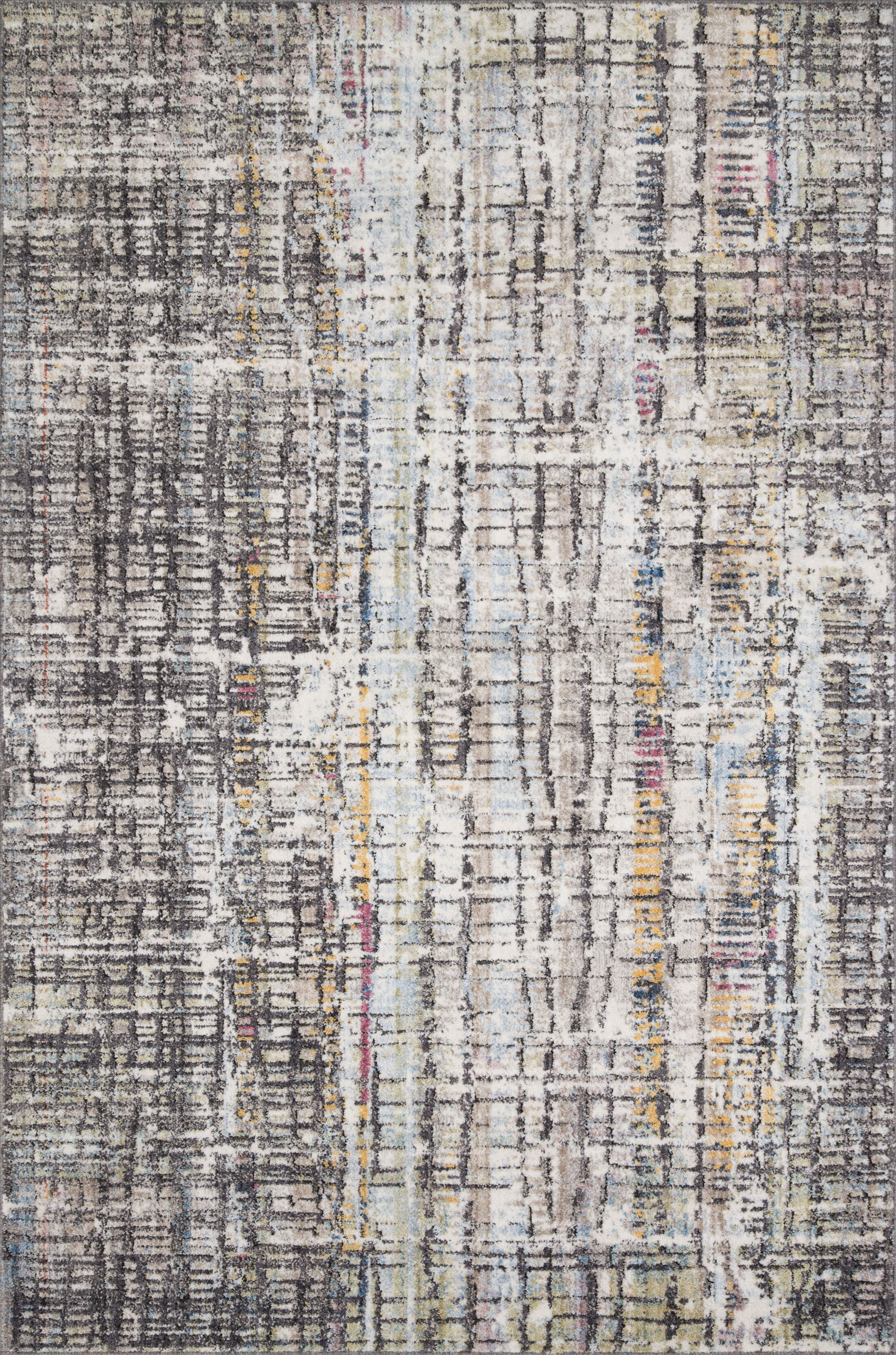 Schell Charcoal Area Rug Rug Size: Rectangle 3'11