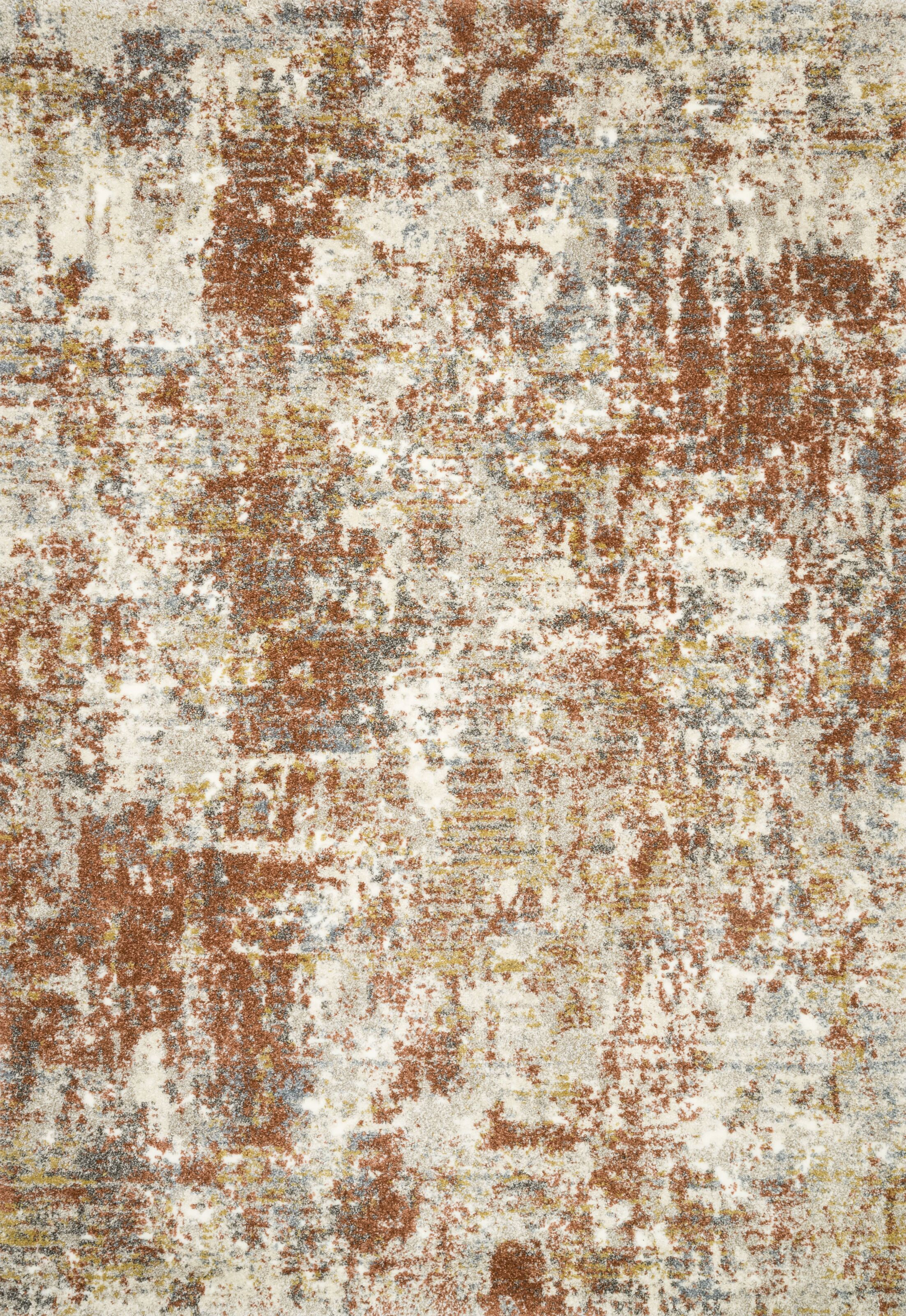 Gilchrist Orange/Brown Area Rug Rug Size: Rectangle 12' x 15'