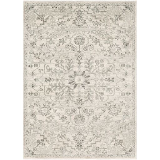Hillsby Beige/Light Gray Area Rug Rug Size: Rectangle 3'11