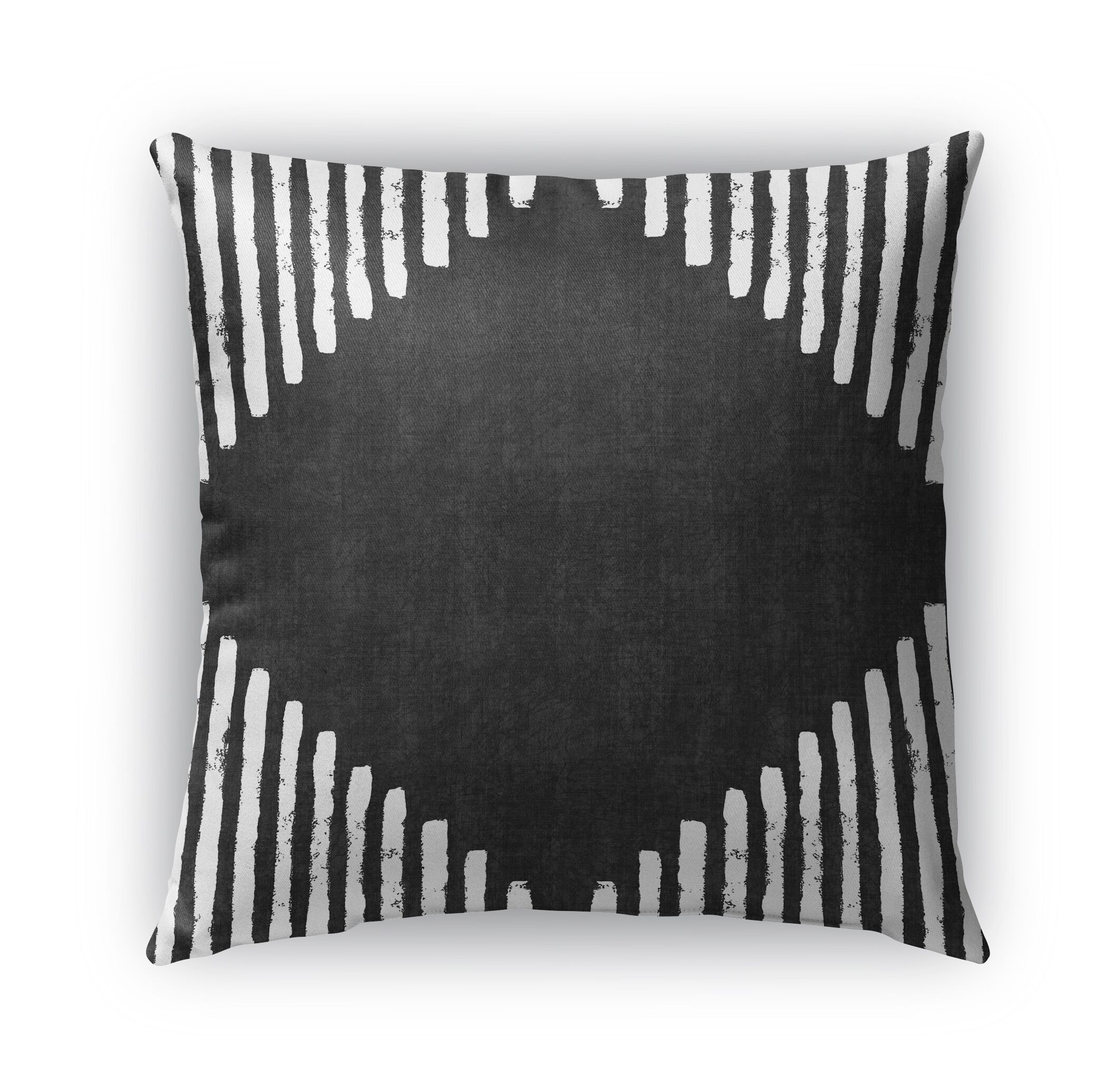 Hadley Diamond Block Throw Pillow Size: 26