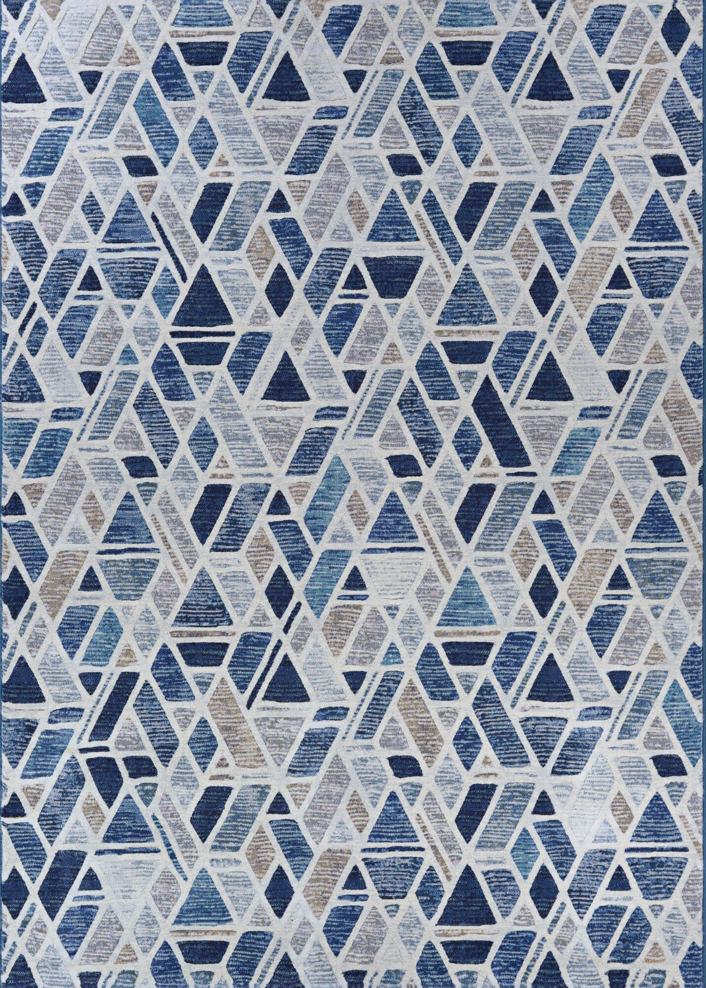 Sappington Bricks Graffiti Blue/Gray Area Rug Rug Size: Rectangle 6'6