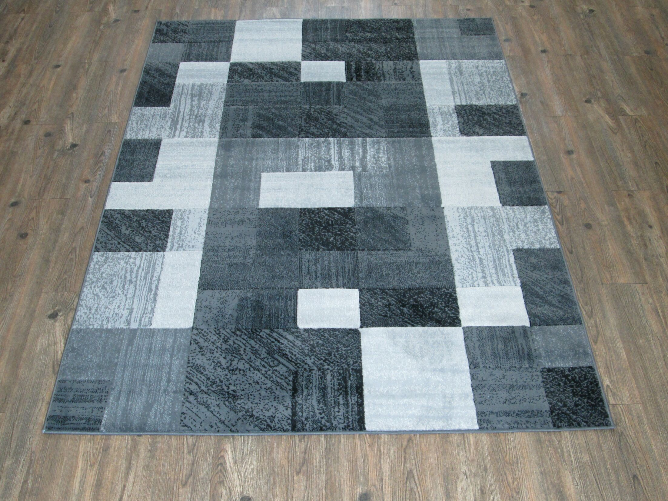 Jack Gray/Black Area Rug