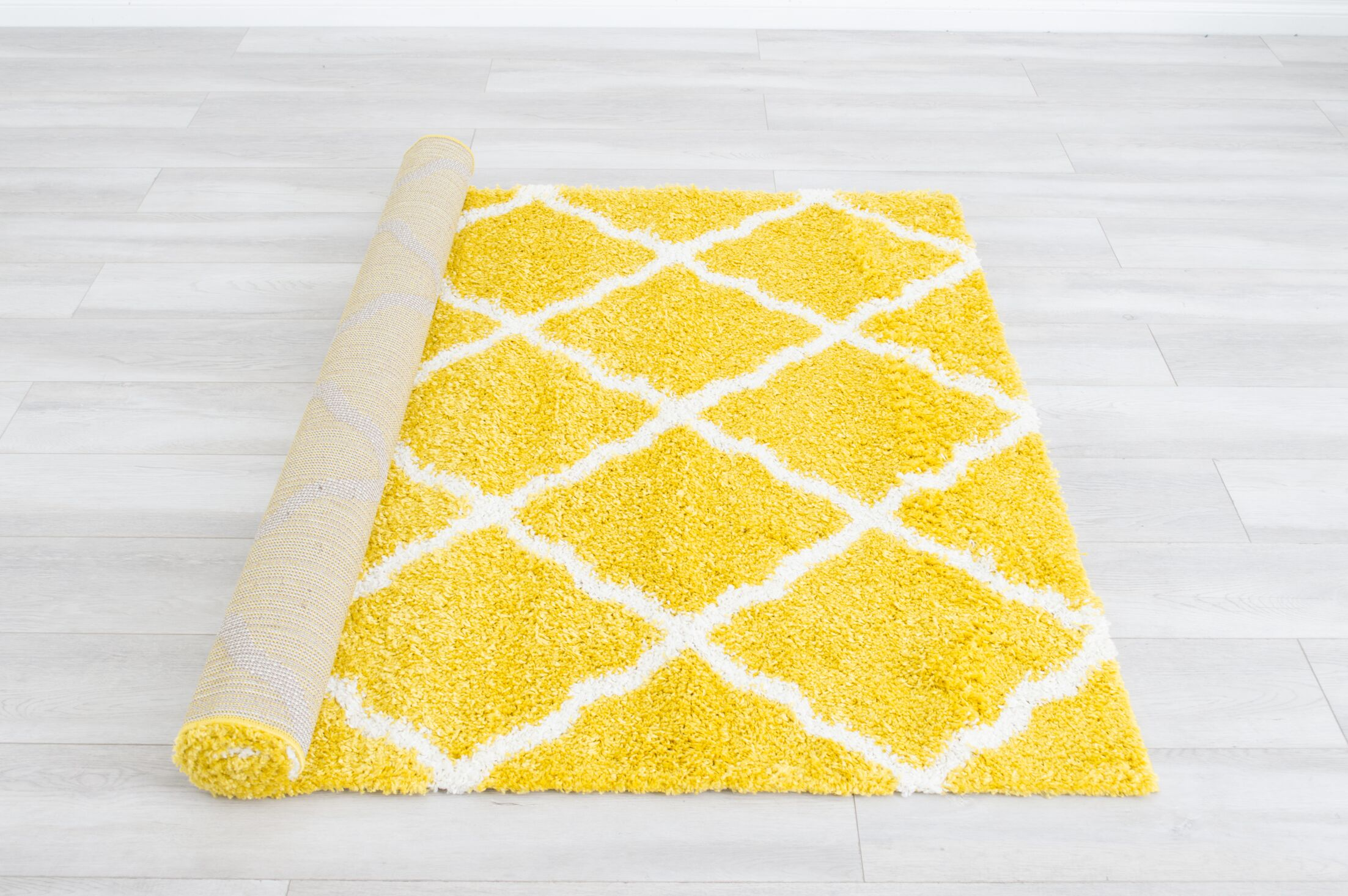 Belger Canary Area Rug Rug Size: Rectangle 5' x 7'