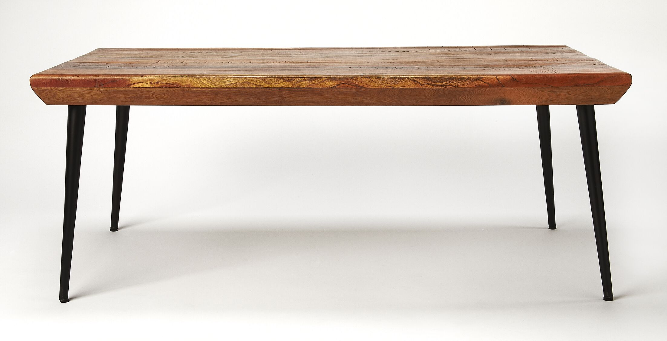 Colin Wood and Metal Coffee Table