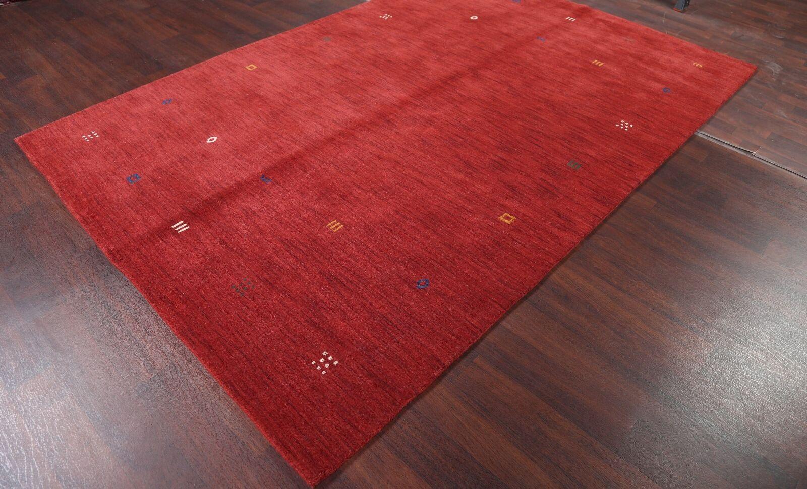 Seidman Oriental Hand-Woven Wool Red Area Rug