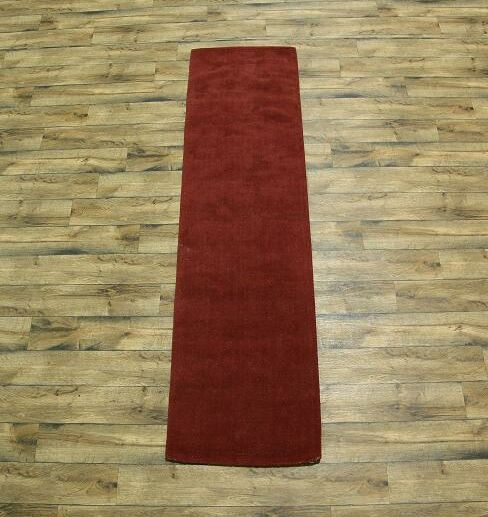 Fortune Oriental Hand-Tufted Wool Red Area Rug