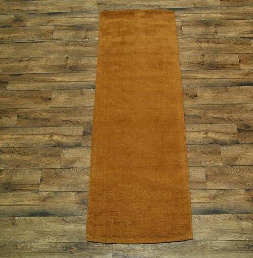 Fortune Oriental Hand-Tufted Wool Orange Area Rug
