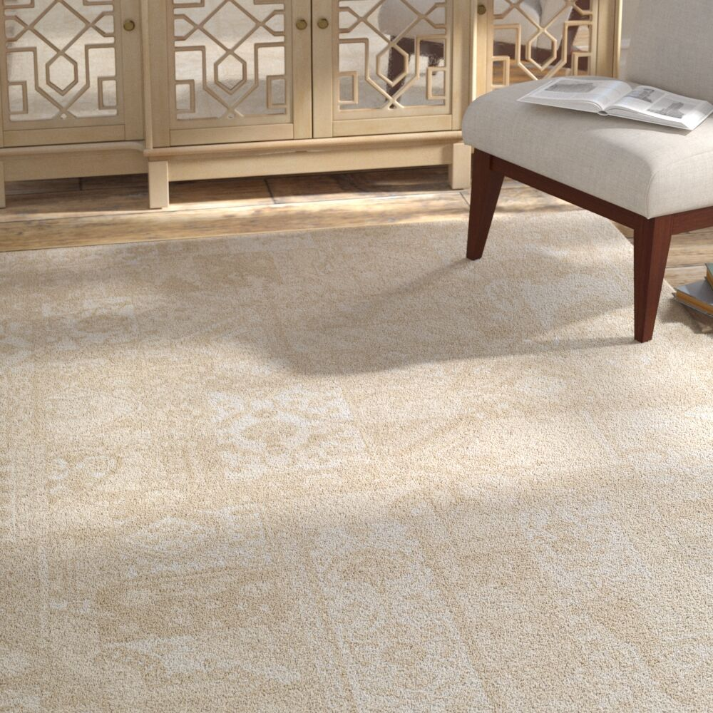 Shenk Brown/Neutral Area Rug Rug Size: Rectangle 3'11