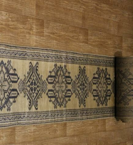 One-of-a-Kind Bovill Turkish Hand-Knotted Wool Beige/Brown Indoor/Outdoor Area Rug
