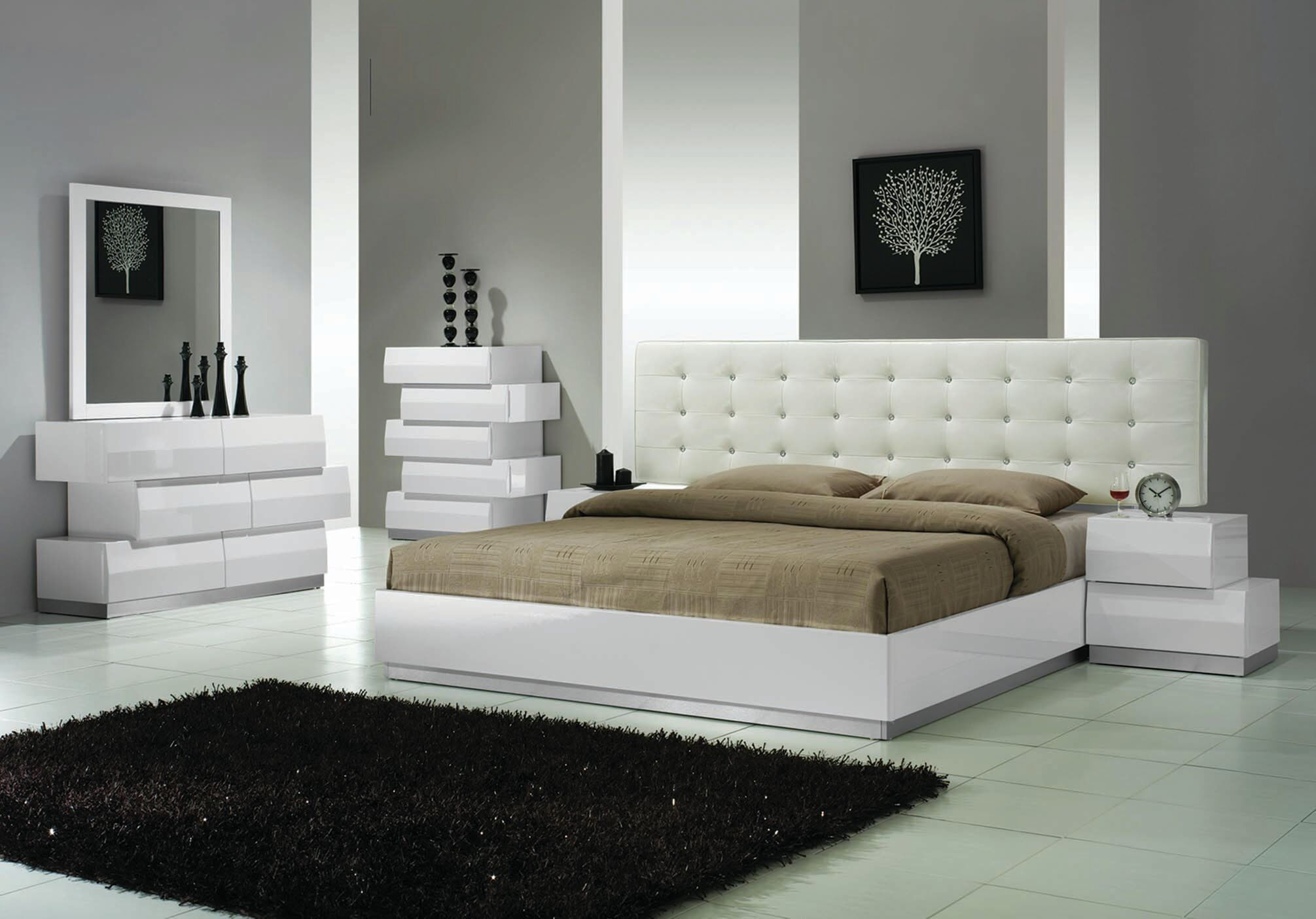 Craft 5 Pieces Bedroom Set Size: Eastern King