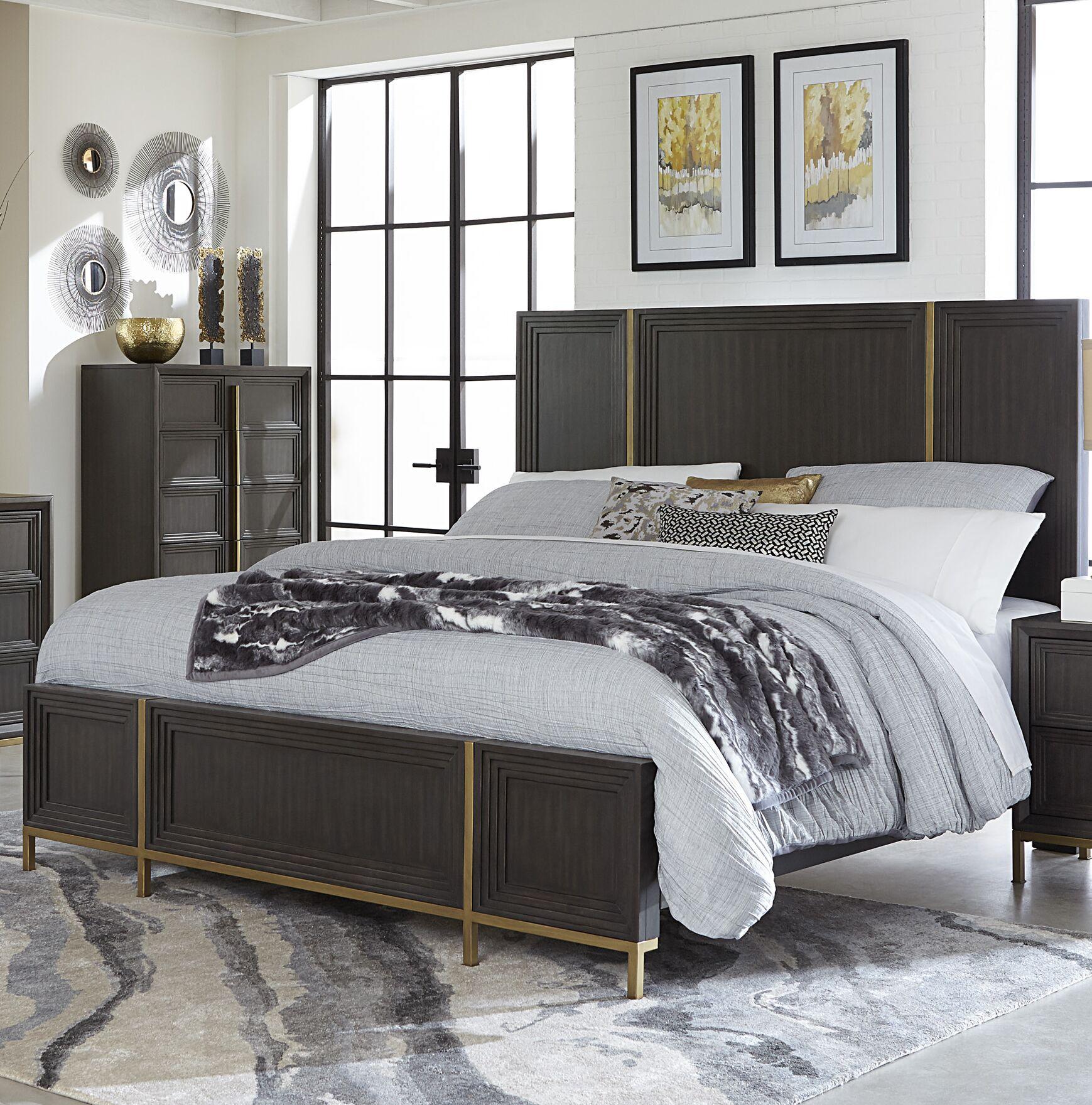 Anstett Panel Bed Size: King