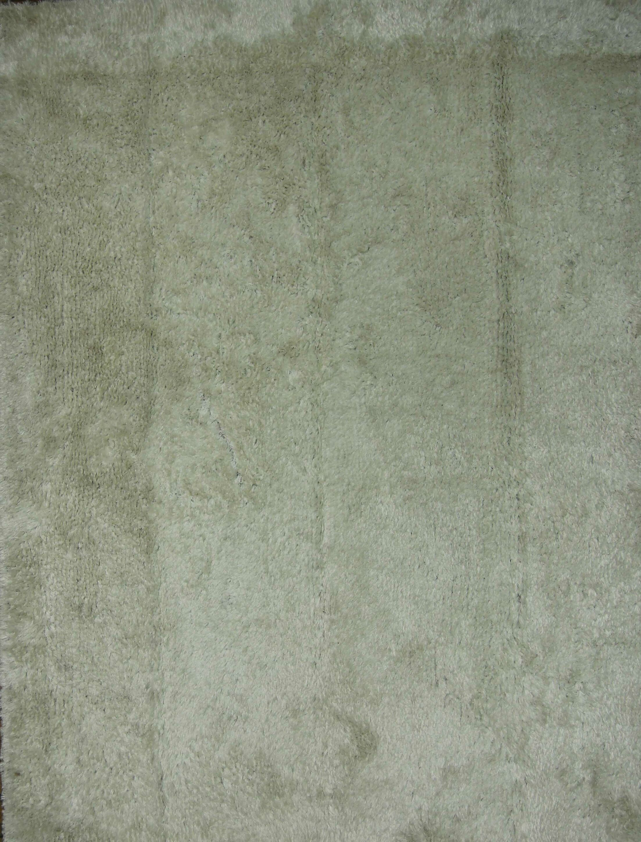 Kirchner Shaggy Oriental Hand-Tufted Gray Area Rug