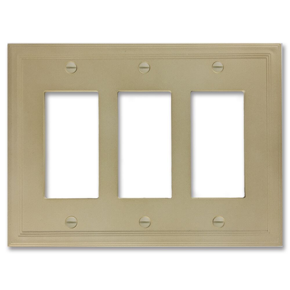 Cornice Insulated Wall Socket Plate Finish: Sandstone Textured