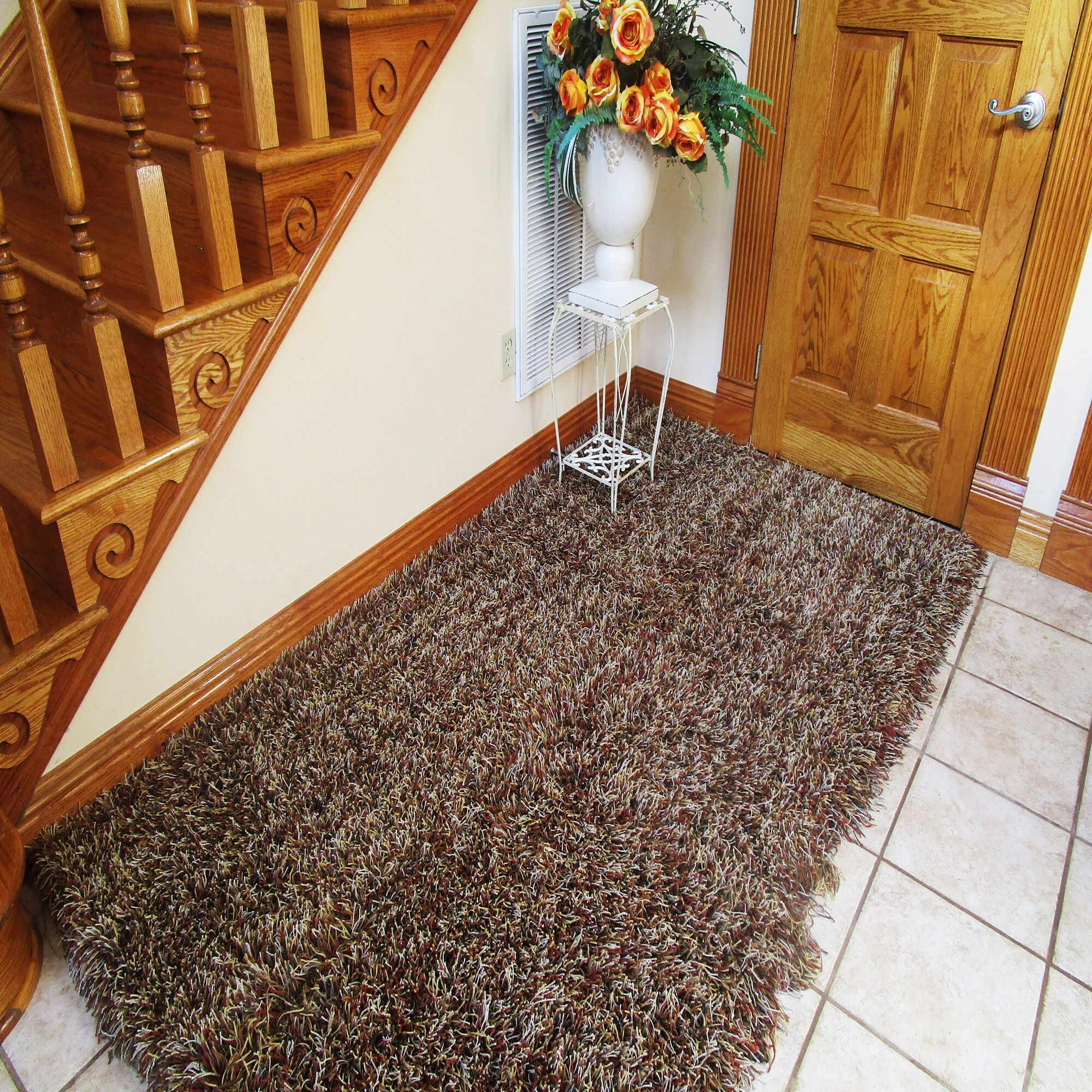 Kaius Brown Area Rug