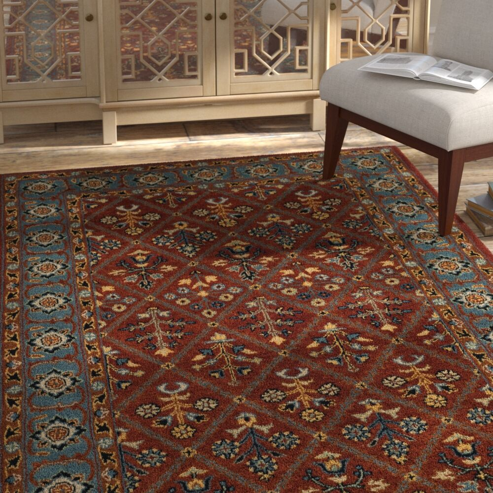 Moss Traditional Hand Tufted Wool Brown Area Rug Rug Size: Rectangle 3' x 5'