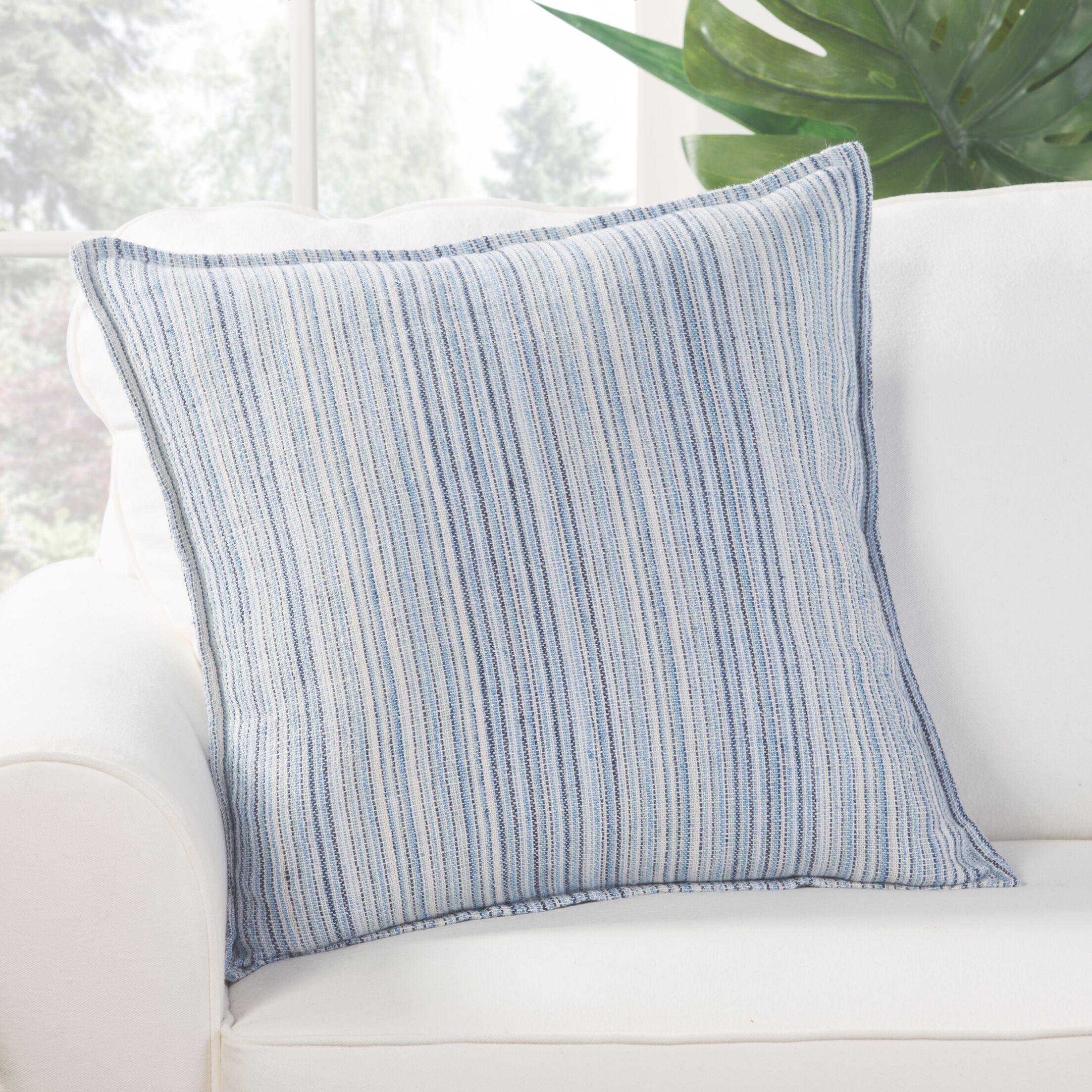 Wolcott Linen Throw Pillow Fill Material: Down