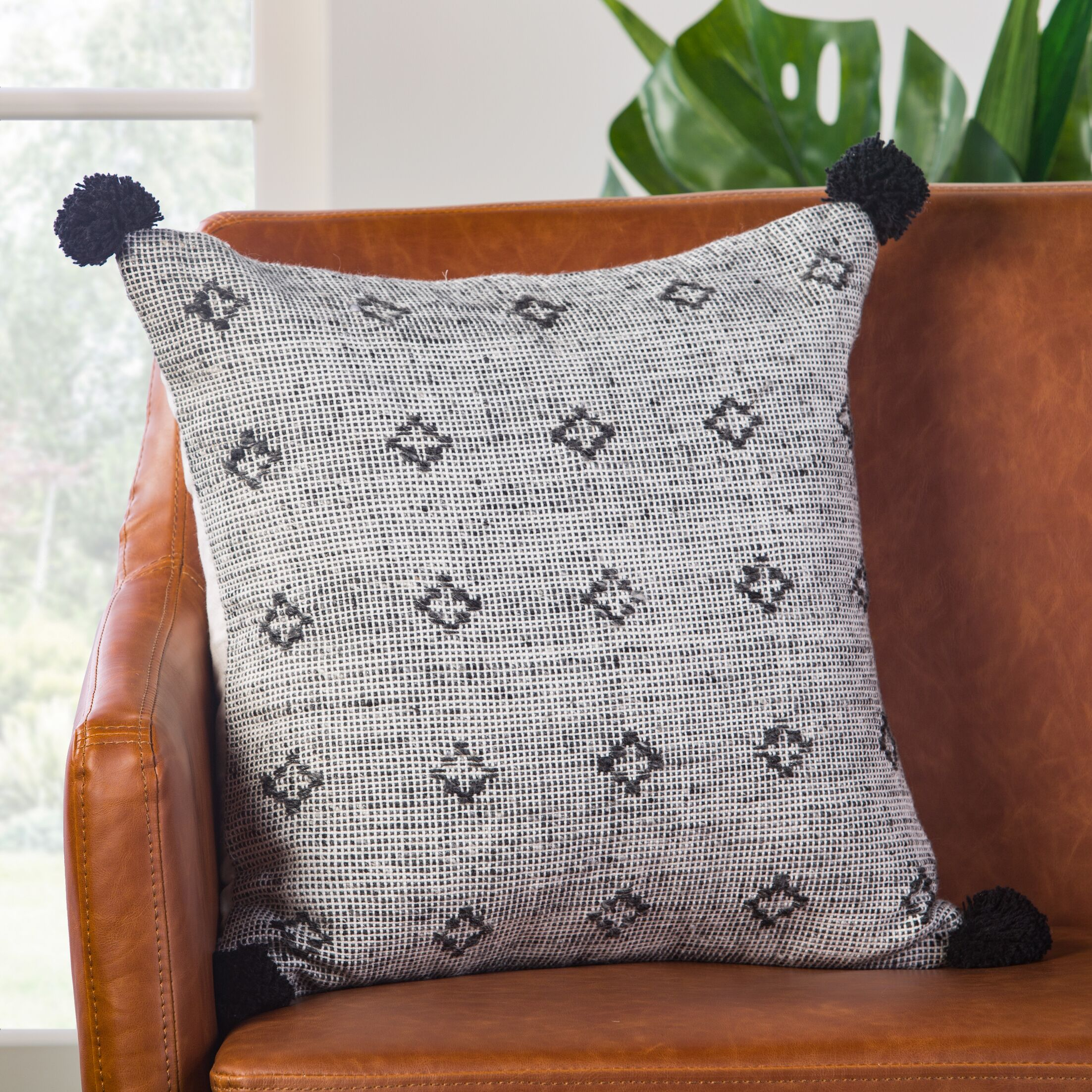 Childers Throw Pillow Fill Material: Down