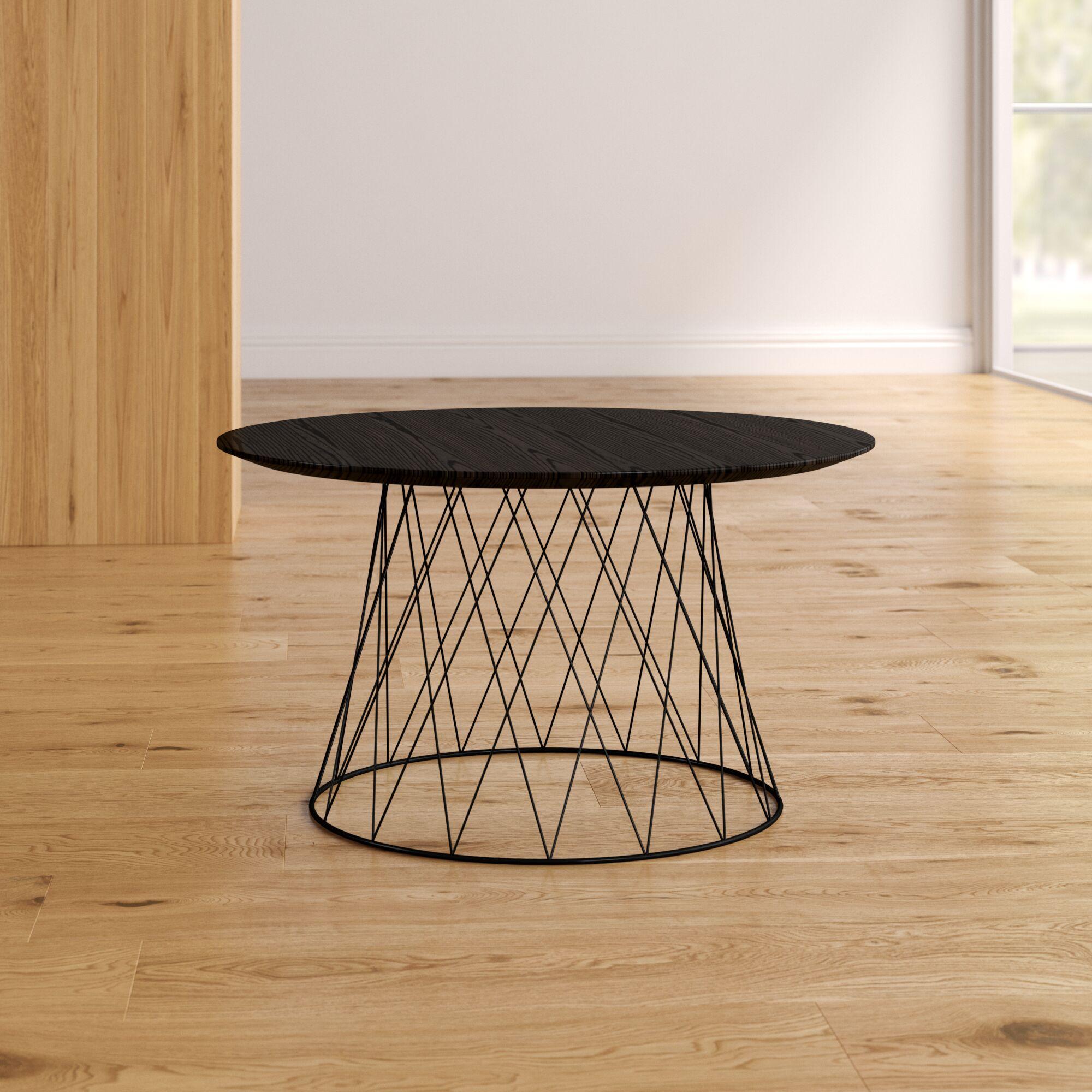 Brickey Coffee Table Color: Black