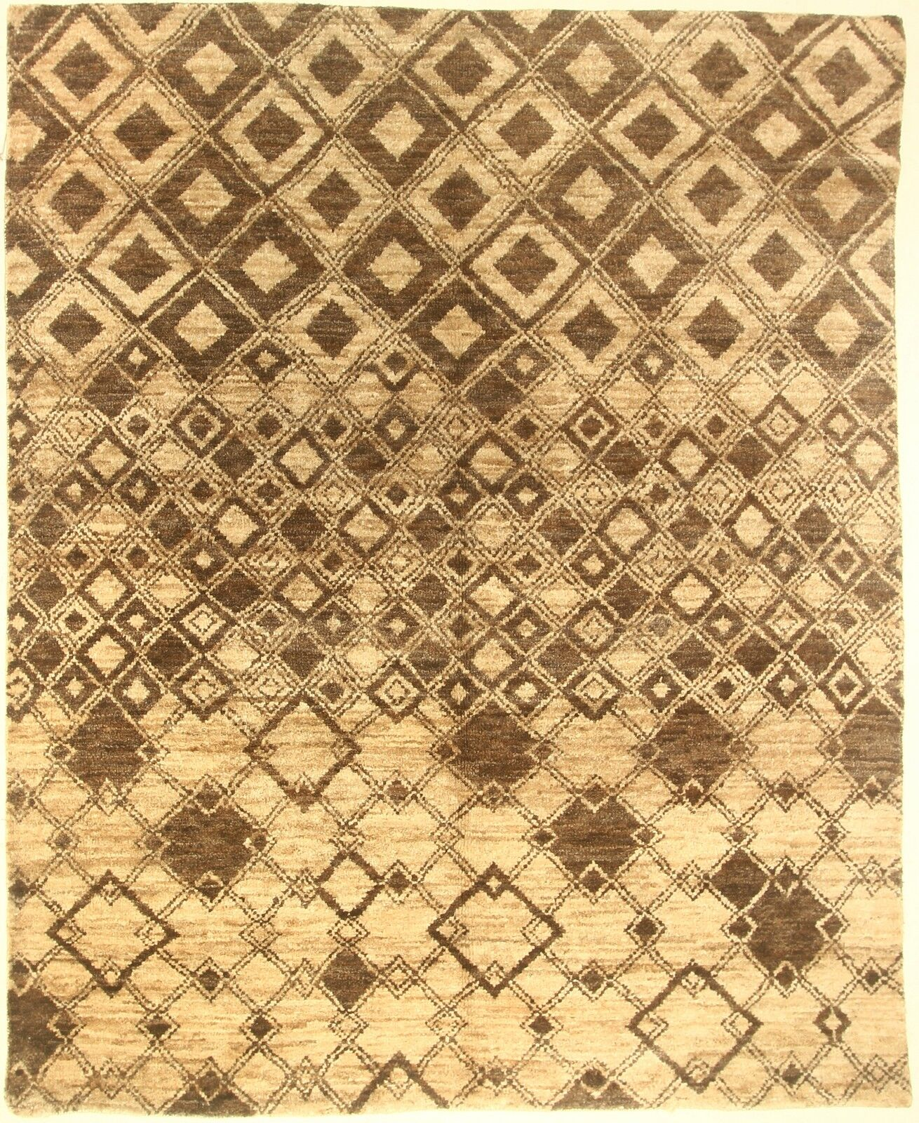 One-of-a-Kind Corbeil Hand-Knotted Brown Area Rug