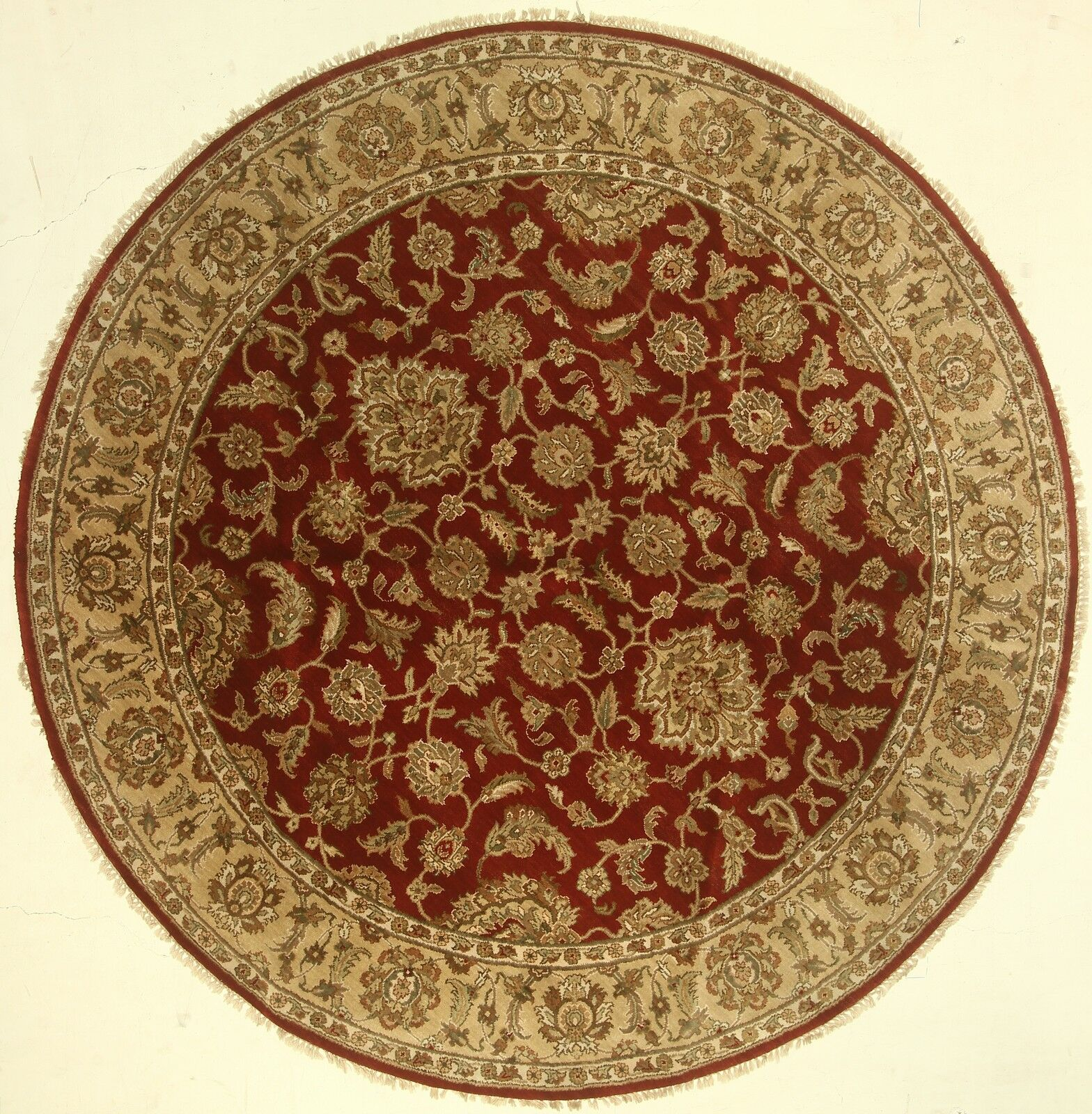 One-of-a-Kind Cora Hand-Knotted Wool Red Area Rug