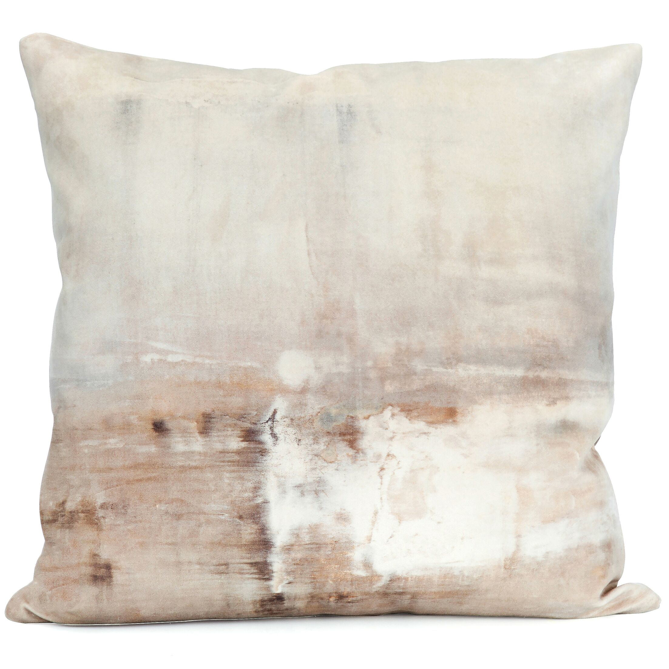 Benson-Cobb Dune Printed Velvet Throw Pillow