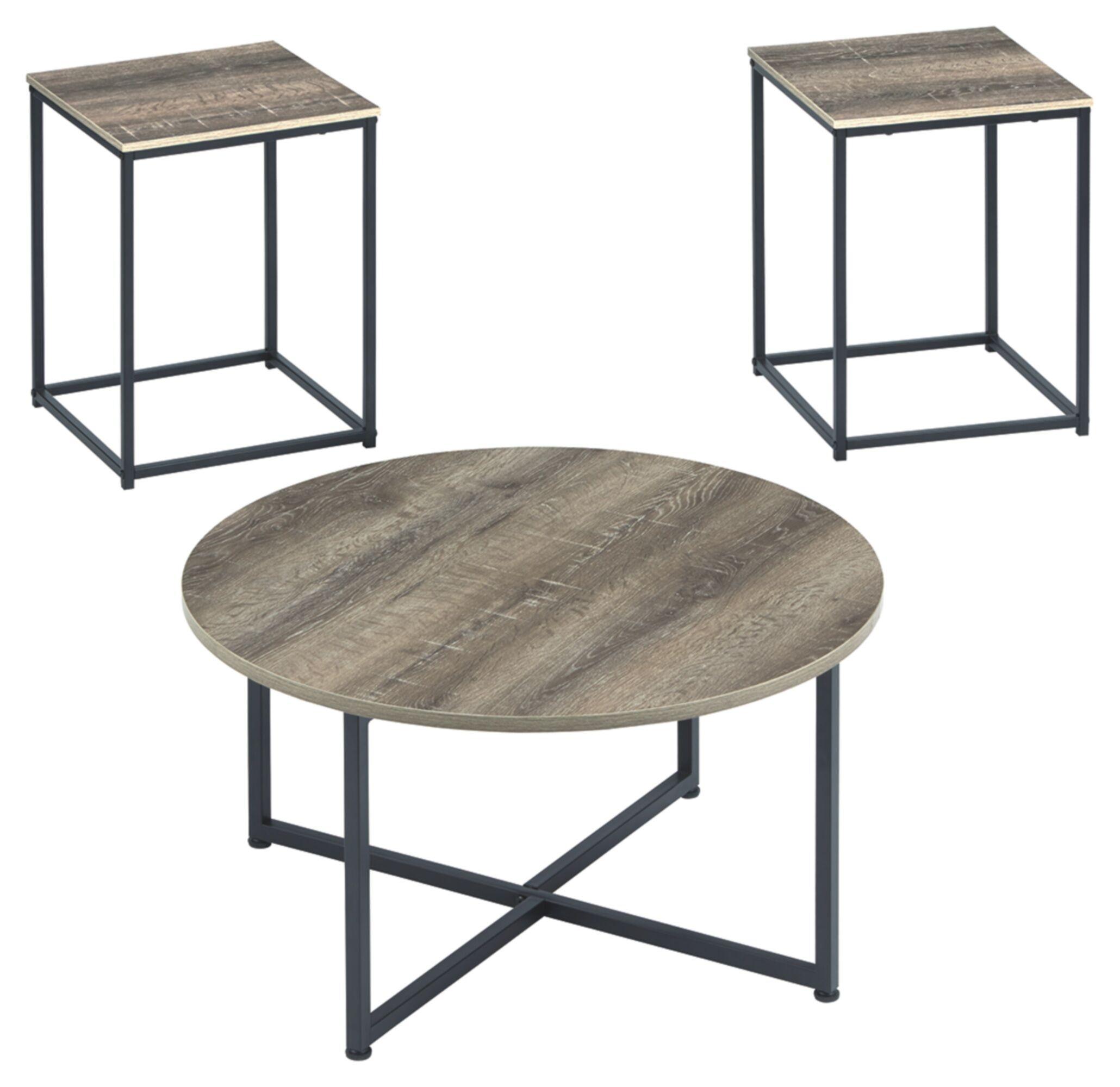Wing Wadeworth 3 Piece Coffee Table Set