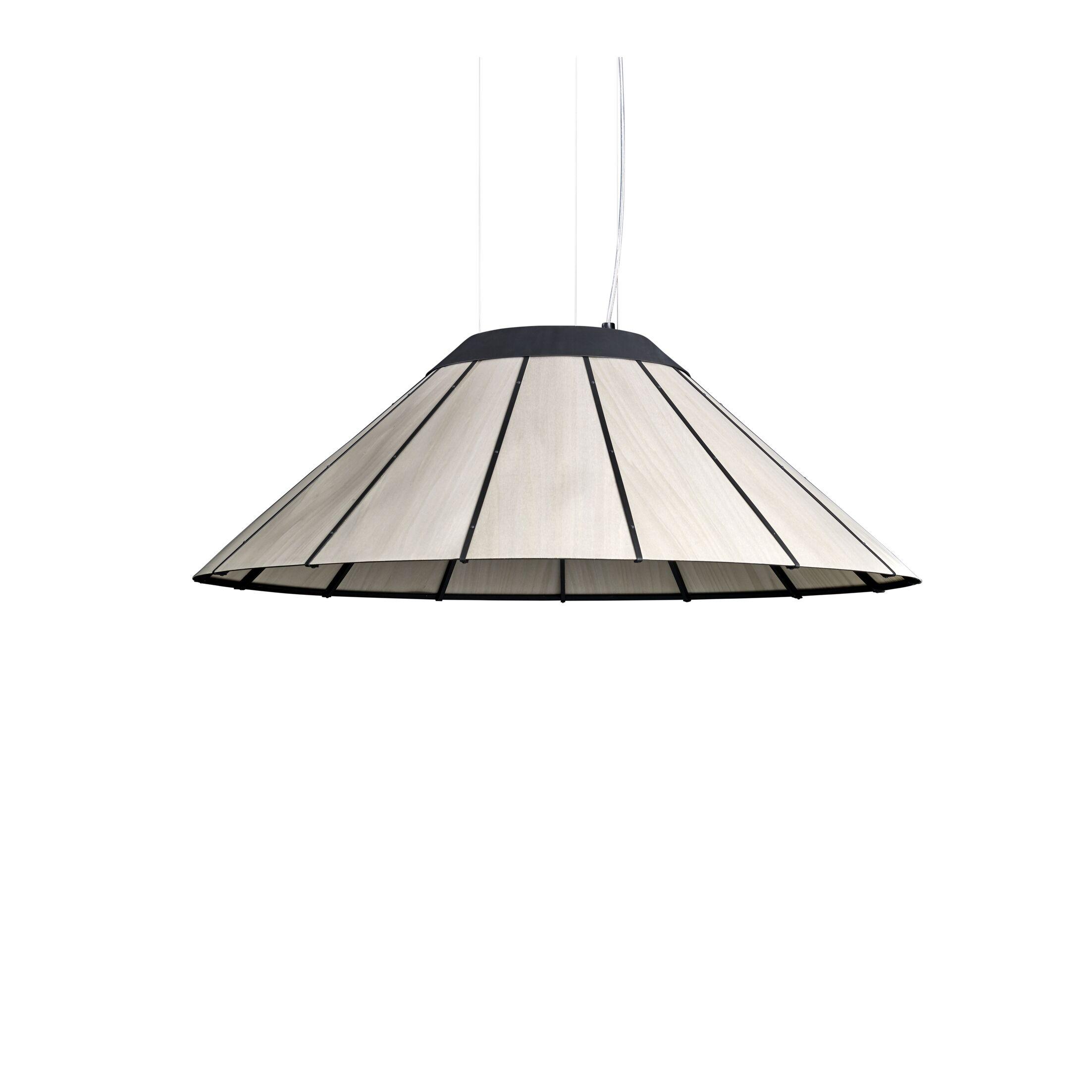 LED Cone Pendant Size: Medium, Shade Color: Gray