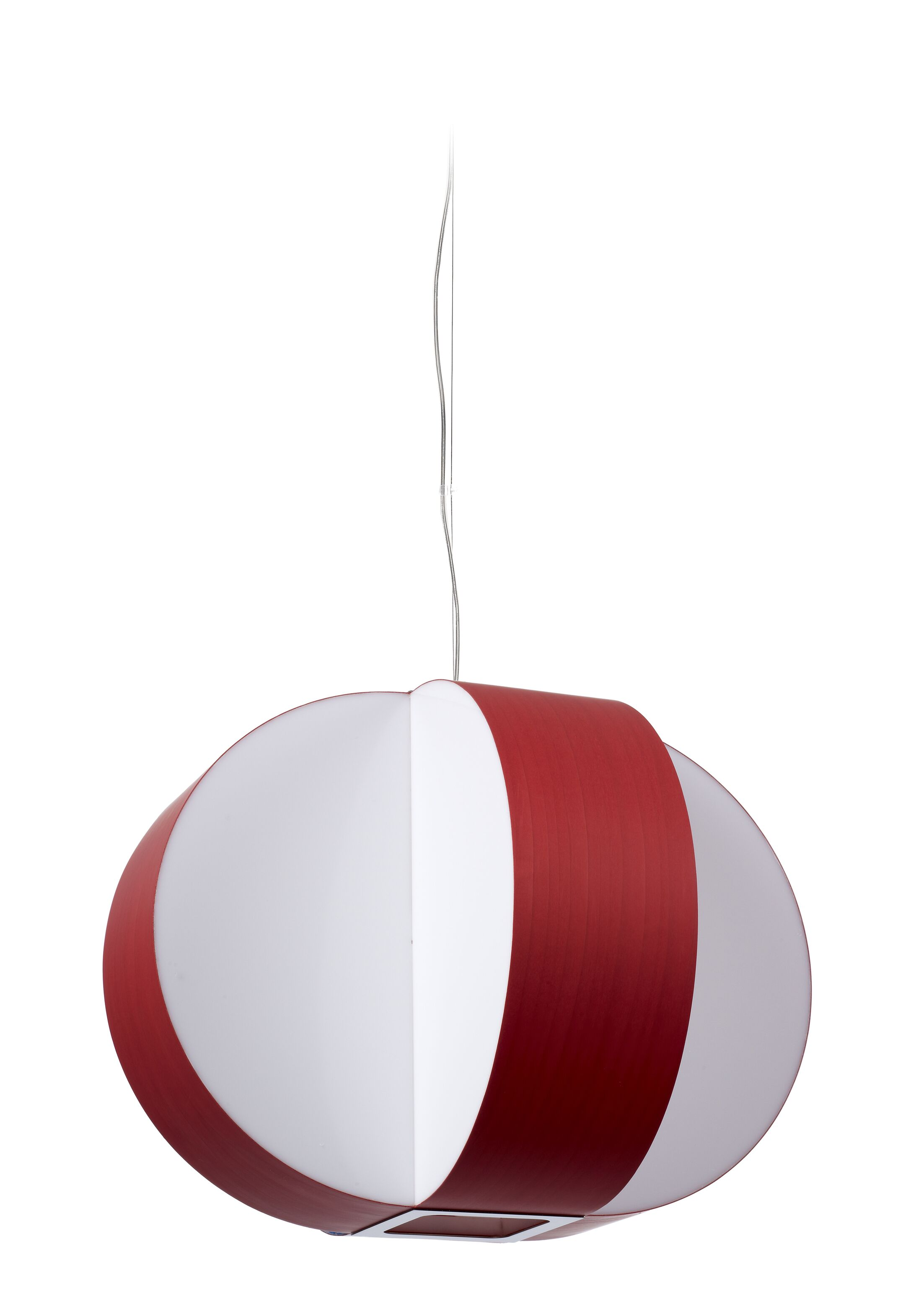 Carambola LED Novelty Pendant Size: Medium, Shade Color: Red