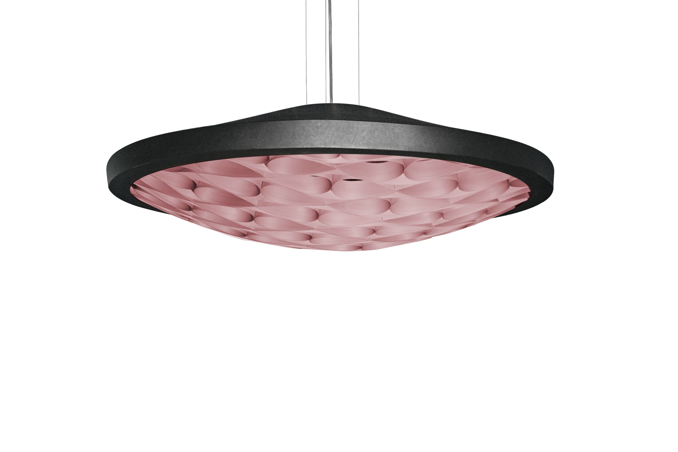 Cervantes LED Novelty Pendant Finish: Matte Black, Shade Color: Natural Beech