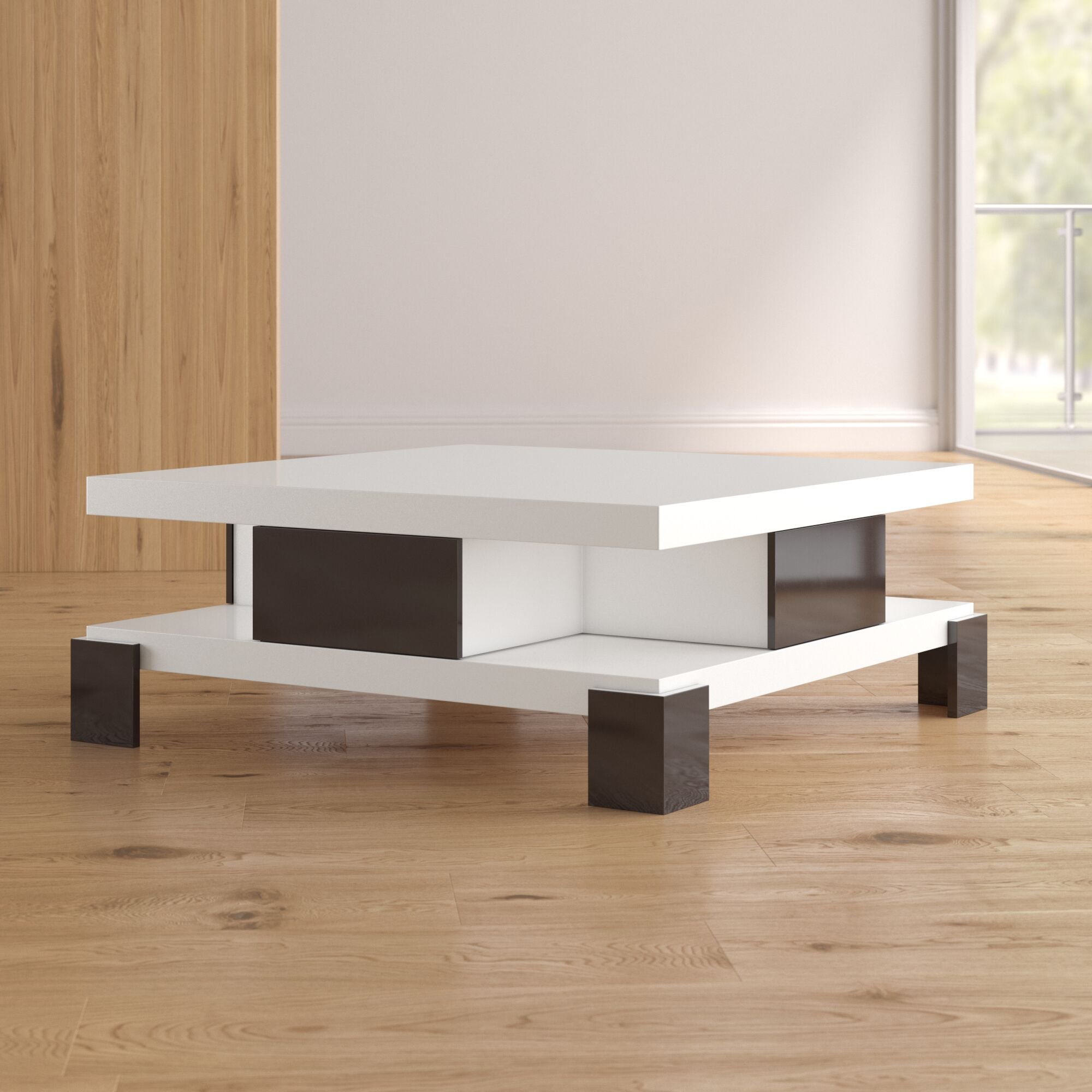 Dolores Coffee Table Color: White